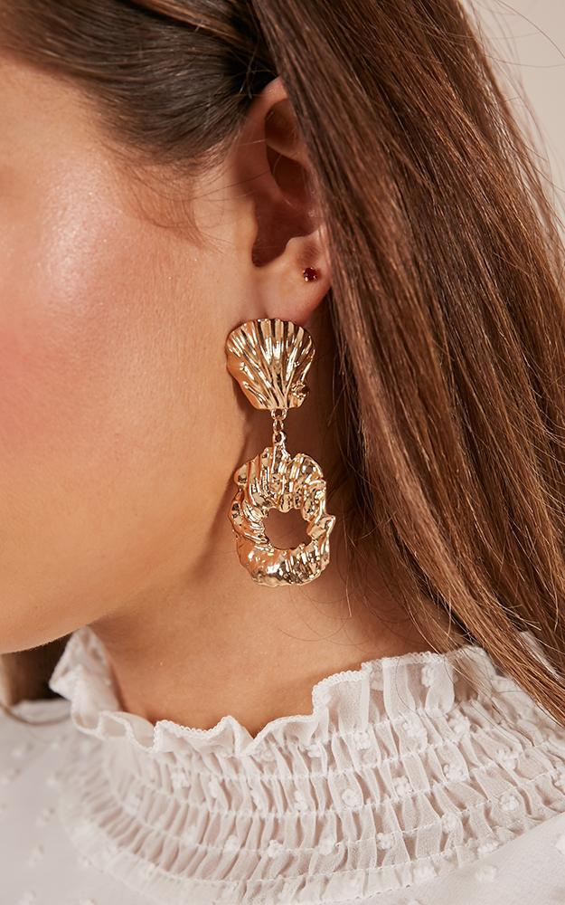 Offshore earrings in gold, , hi-res image number null