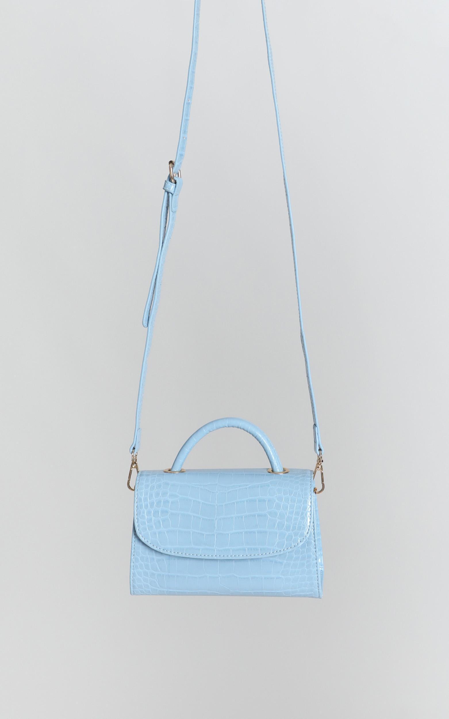 Afternoon Daze Bag In Blue Croc, , hi-res image number null
