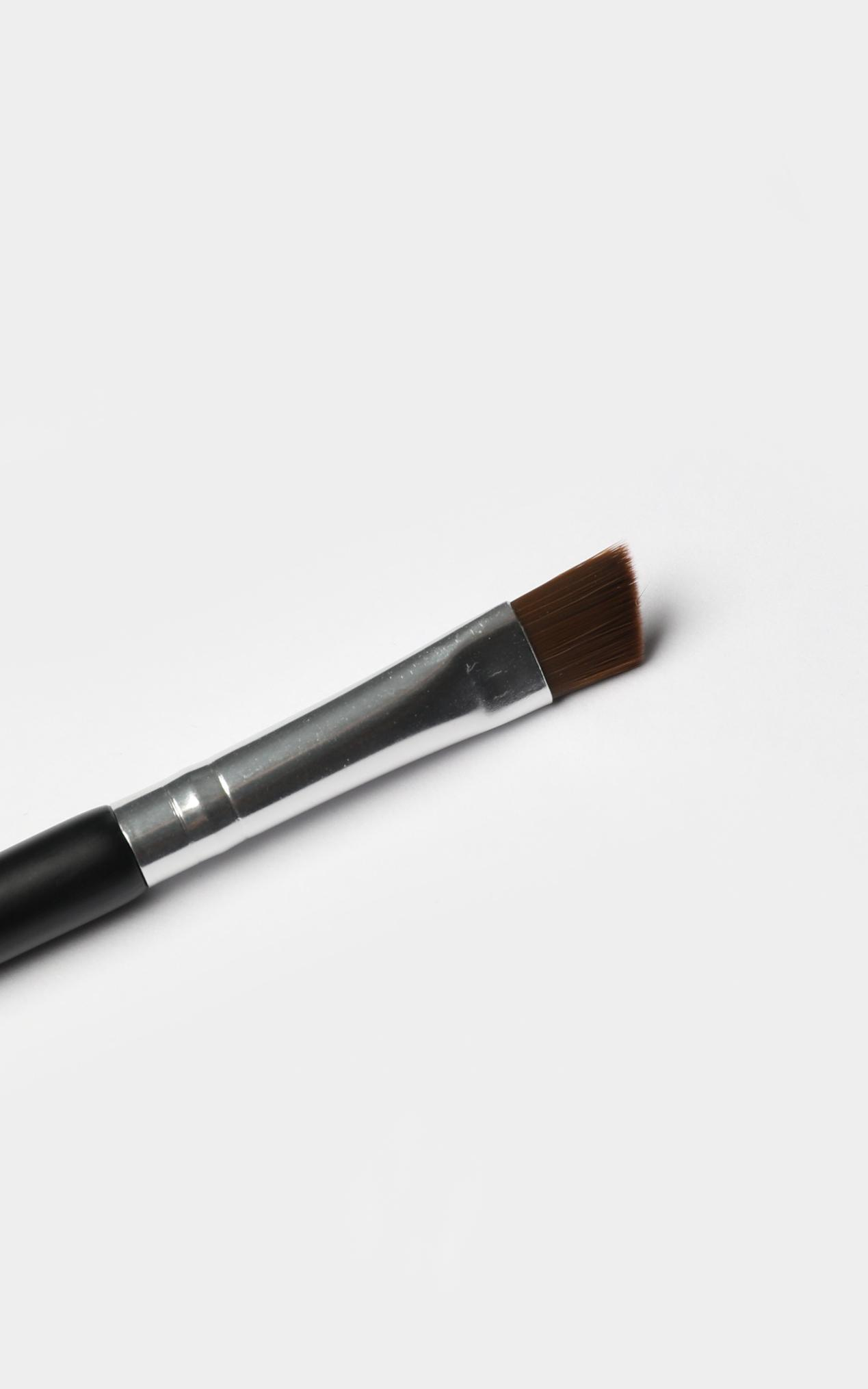 Dual Precision Eyebrow Brush In  Black And Silver, , hi-res image number null