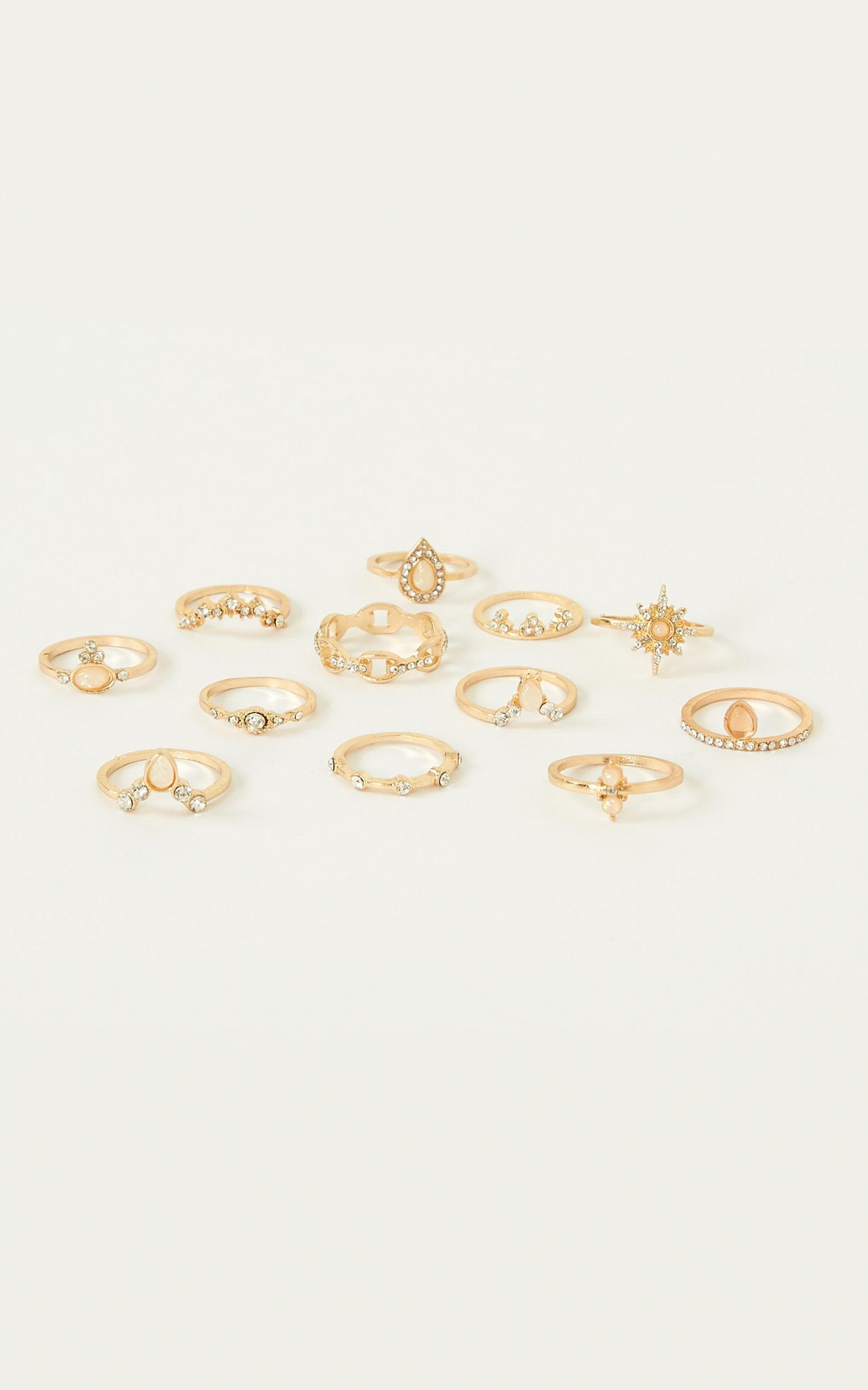 Loving Me Ring Set In Gold, , hi-res image number null