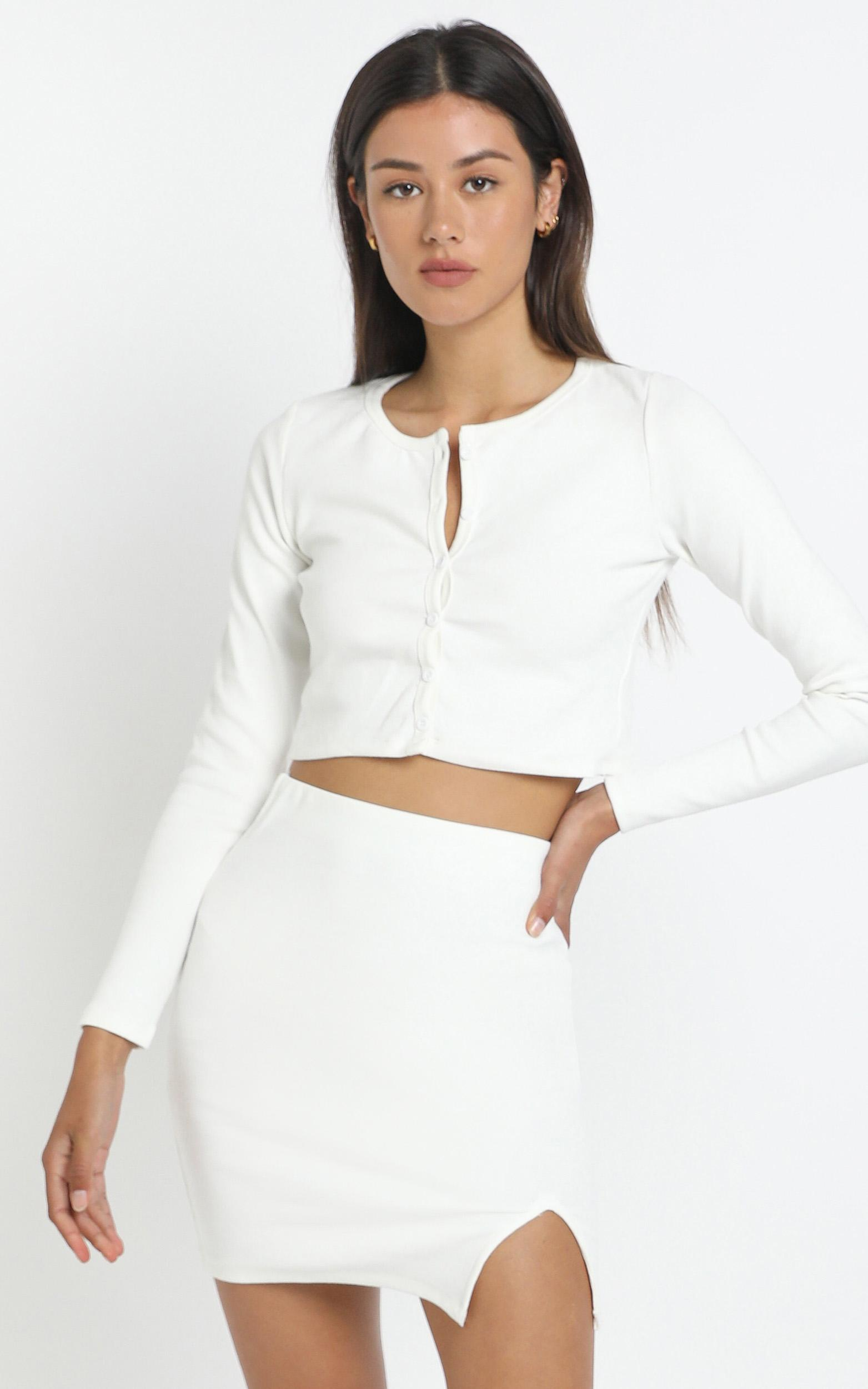 Evelyn Two Piece Set in White - 12 (L), WHT1, hi-res image number null