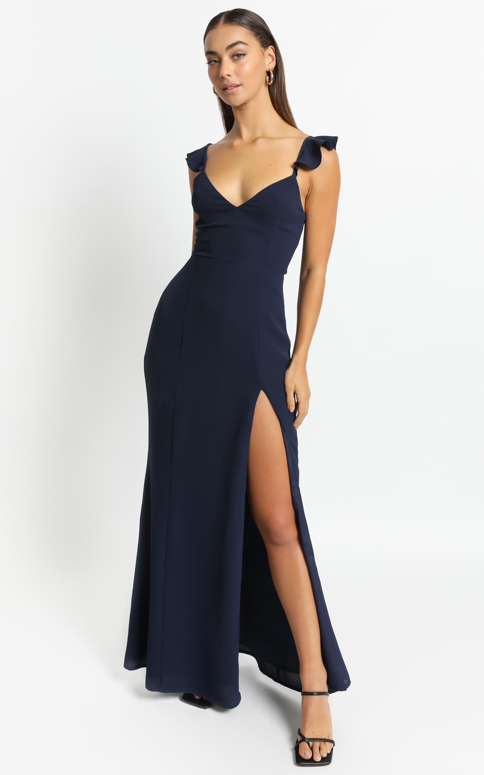More Than This Dress In Navy - 4 (XXS), Navy, hi-res image number null