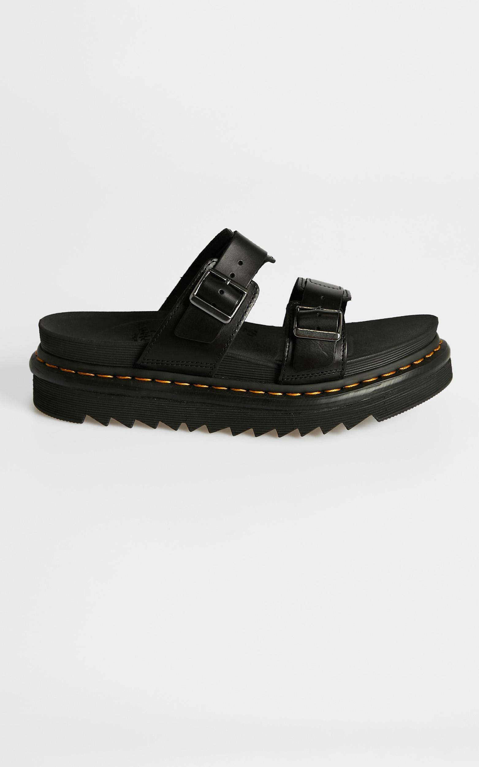 Dr. Martens - Myles Slide Sandal in Black - 05, BLK1, hi-res image number null