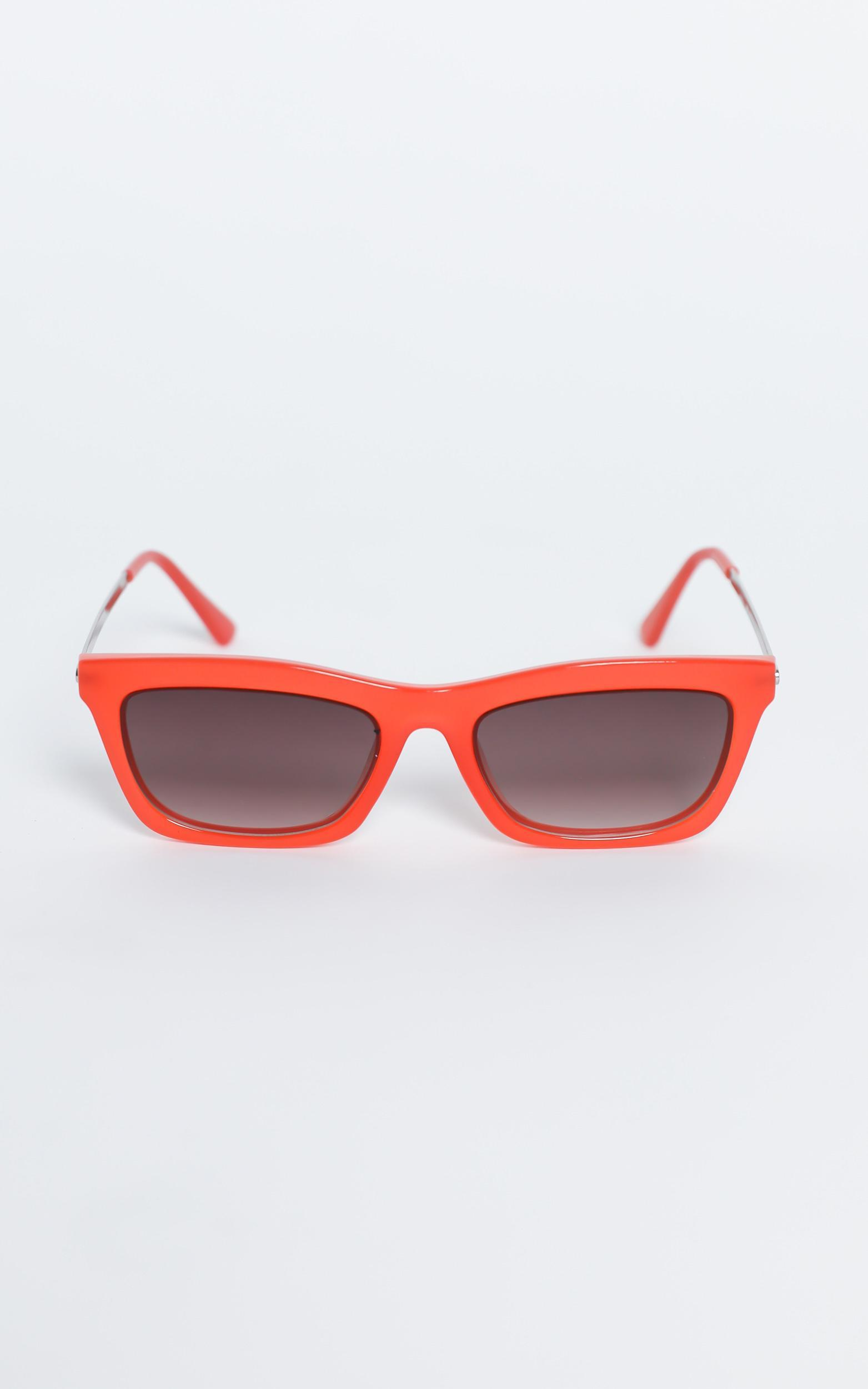 Reality Eyewear - Bowery Sunglasses in Coral, PNK14, hi-res image number null