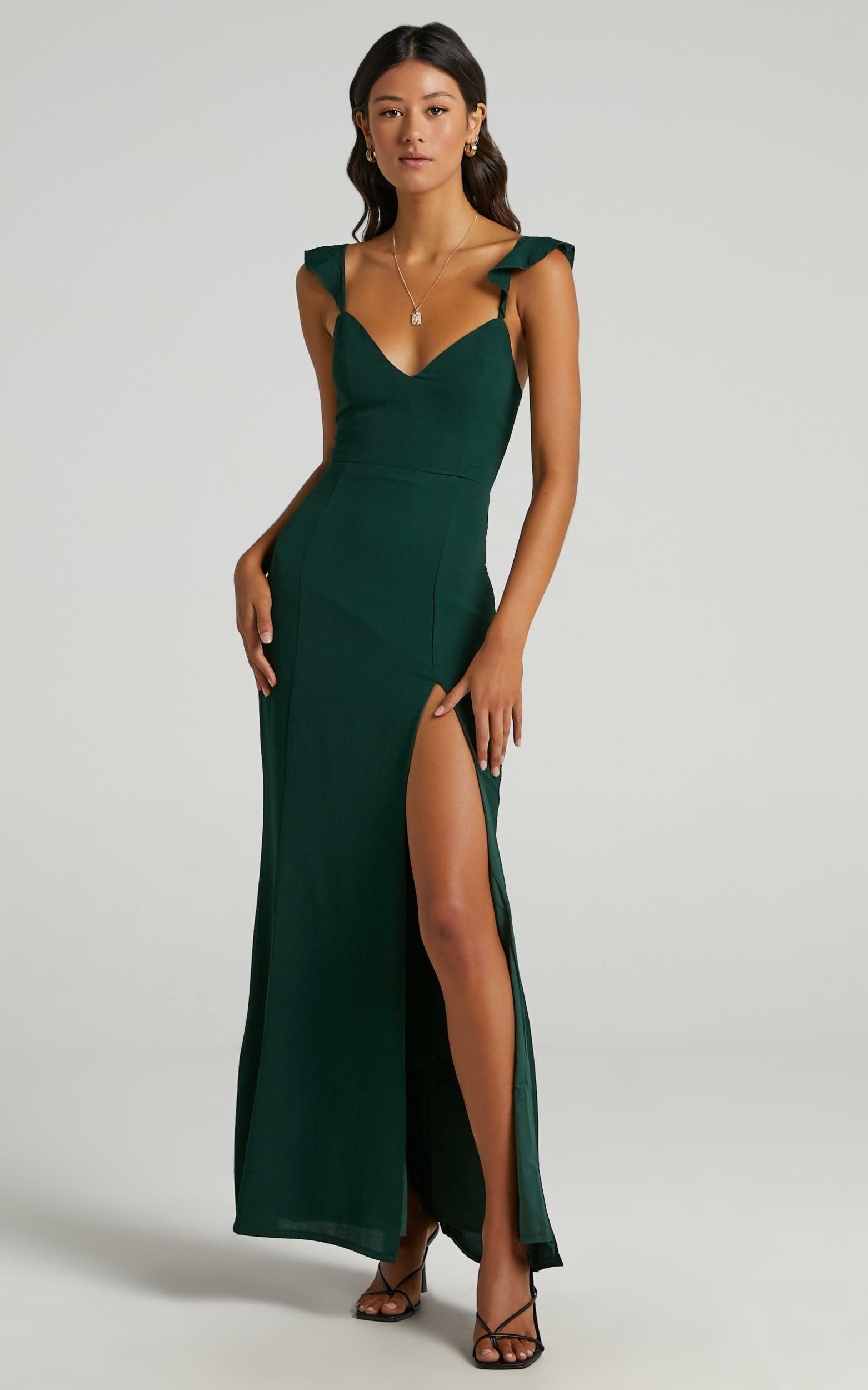 More Than This Dress In emerald - 20 (XXXXL), GRN7, hi-res image number null
