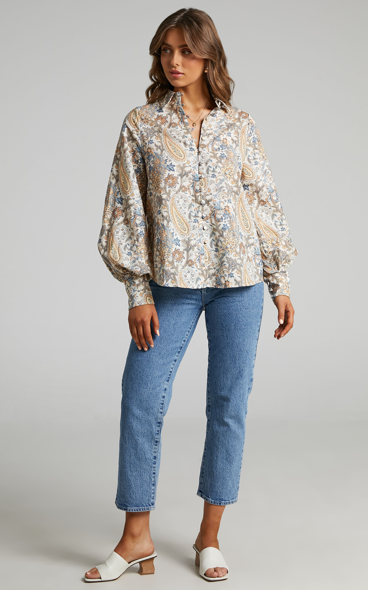 Charlie Holiday - Harmony Shirt in Paisley - L, MLT1, hi-res image number null