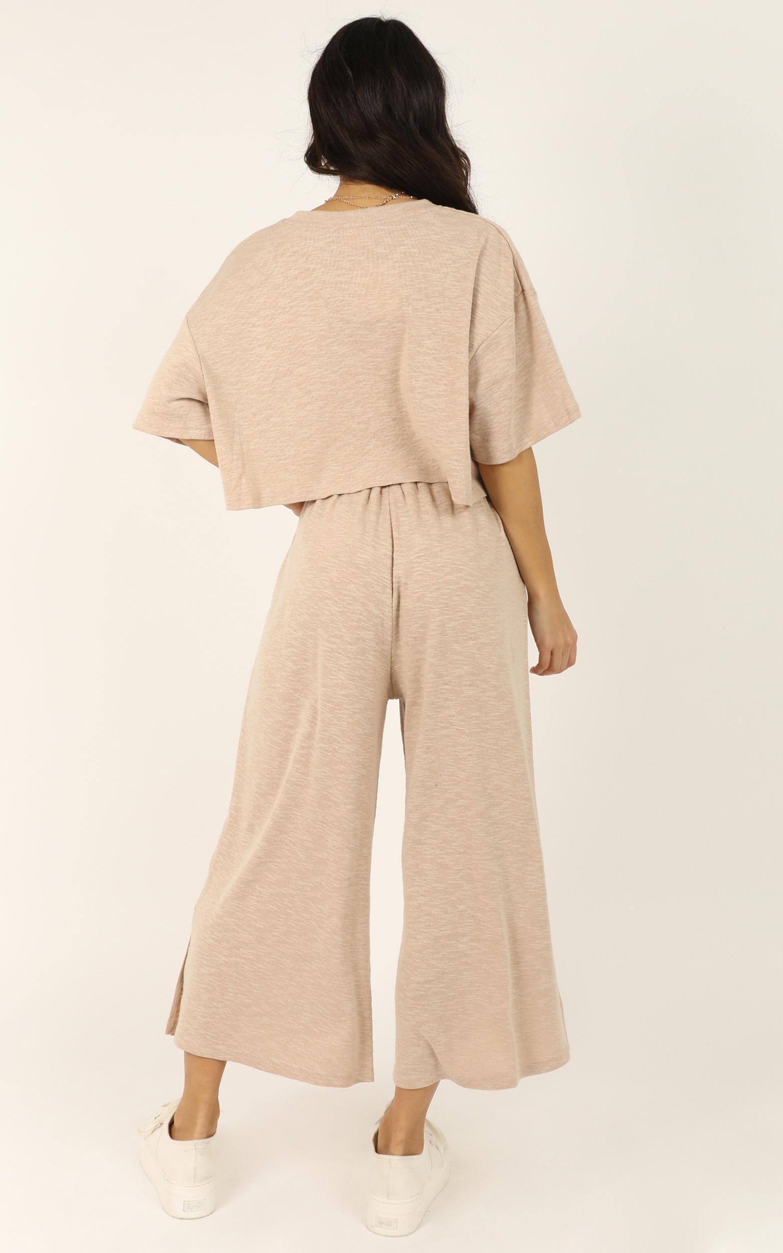 I Got It Bad Pants In cream marle - 10 (M), Cream, hi-res image number null