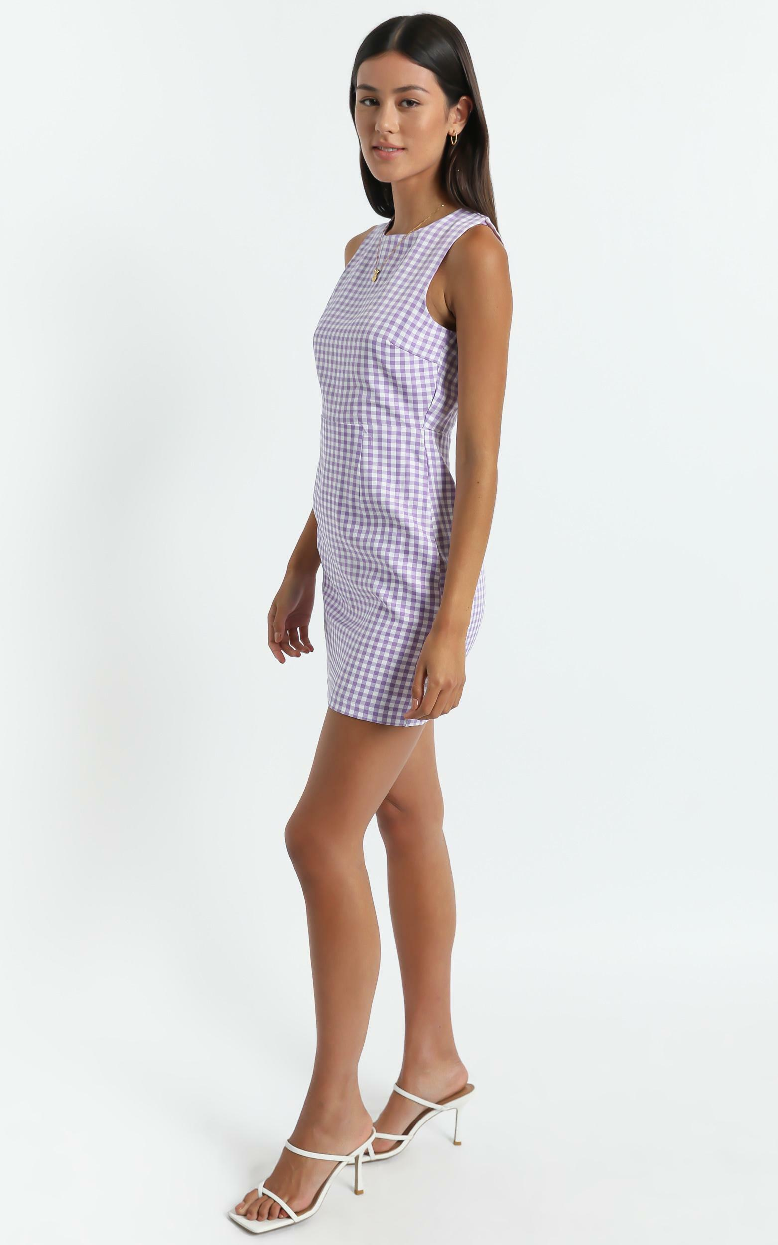 Miray Dress in Purple - 6 (XS), Purple, hi-res image number null