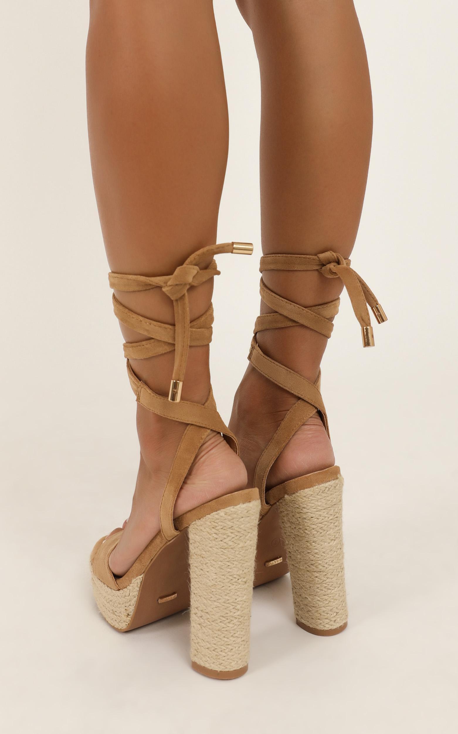 Billini - Emilie heels in camel micro - 10, Camel, hi-res image number null