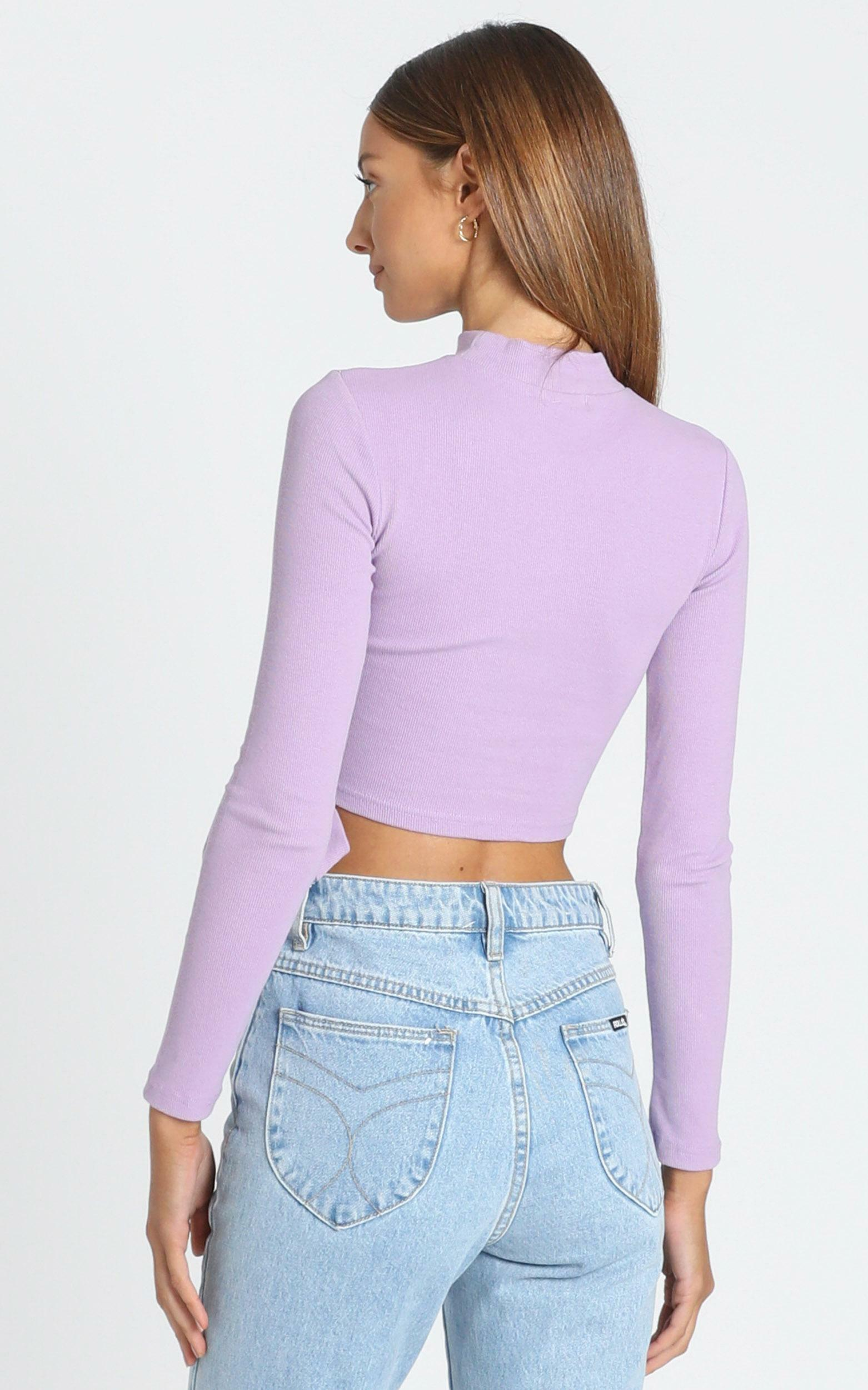 Young Hearts Top in Lilac - 8 (S), Purple, hi-res image number null
