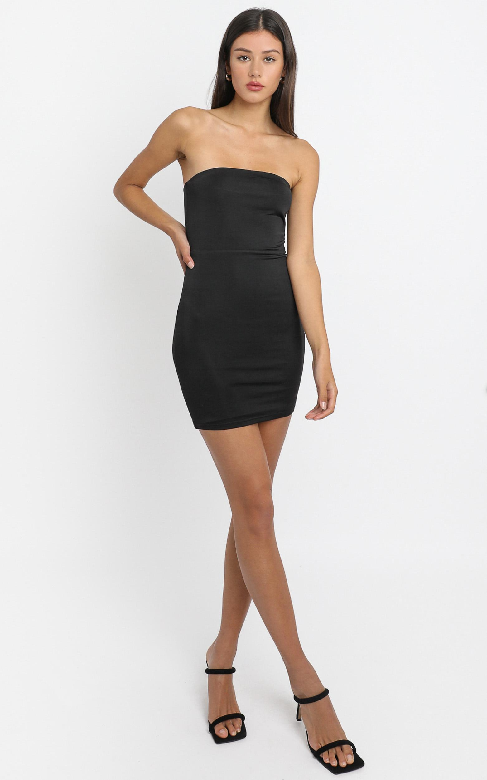 Perfect Decision Dress In black - 6 (XS), BLK1, hi-res image number null