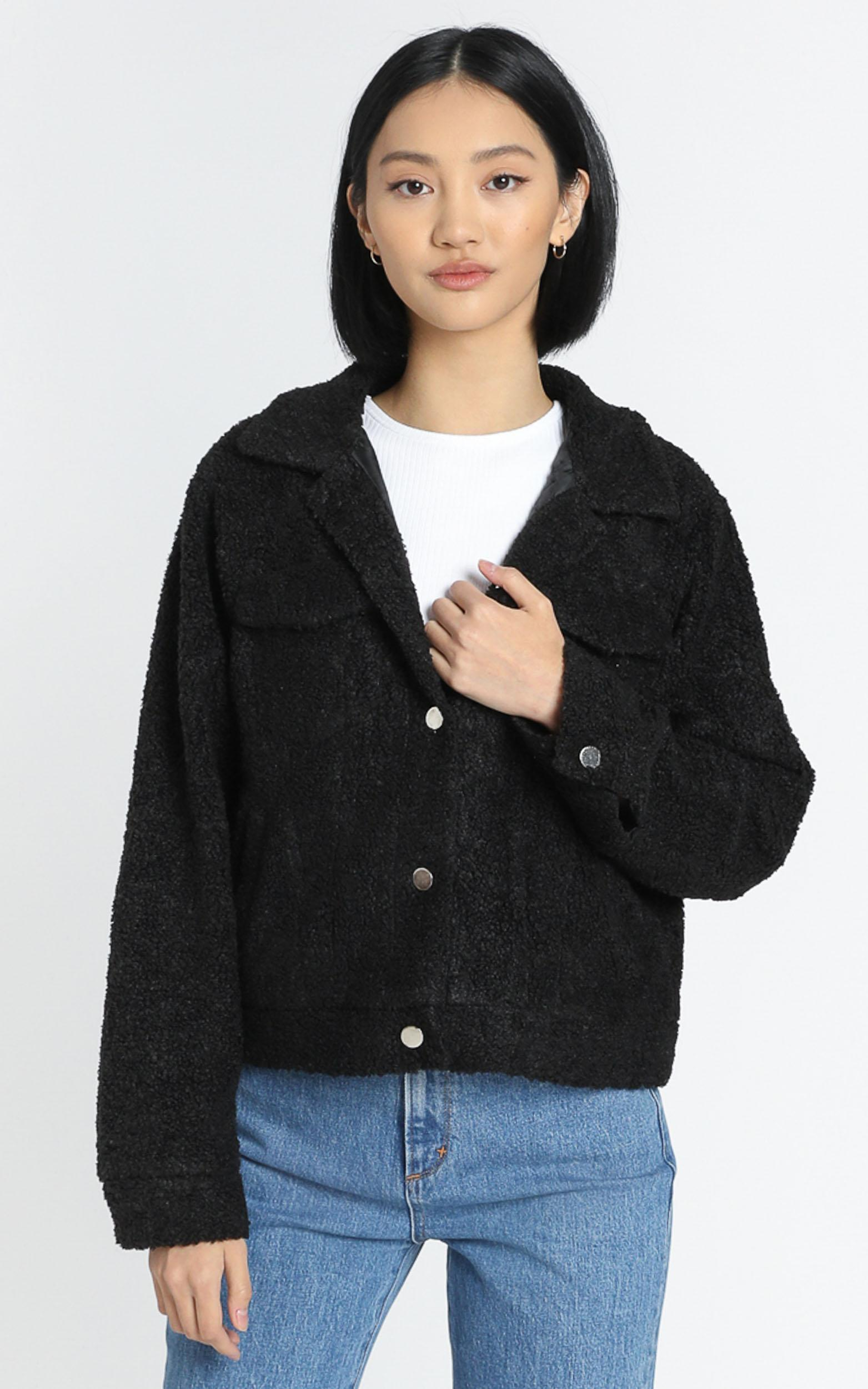 Kerris Jacket in Black - 6 (XS), Black, hi-res image number null