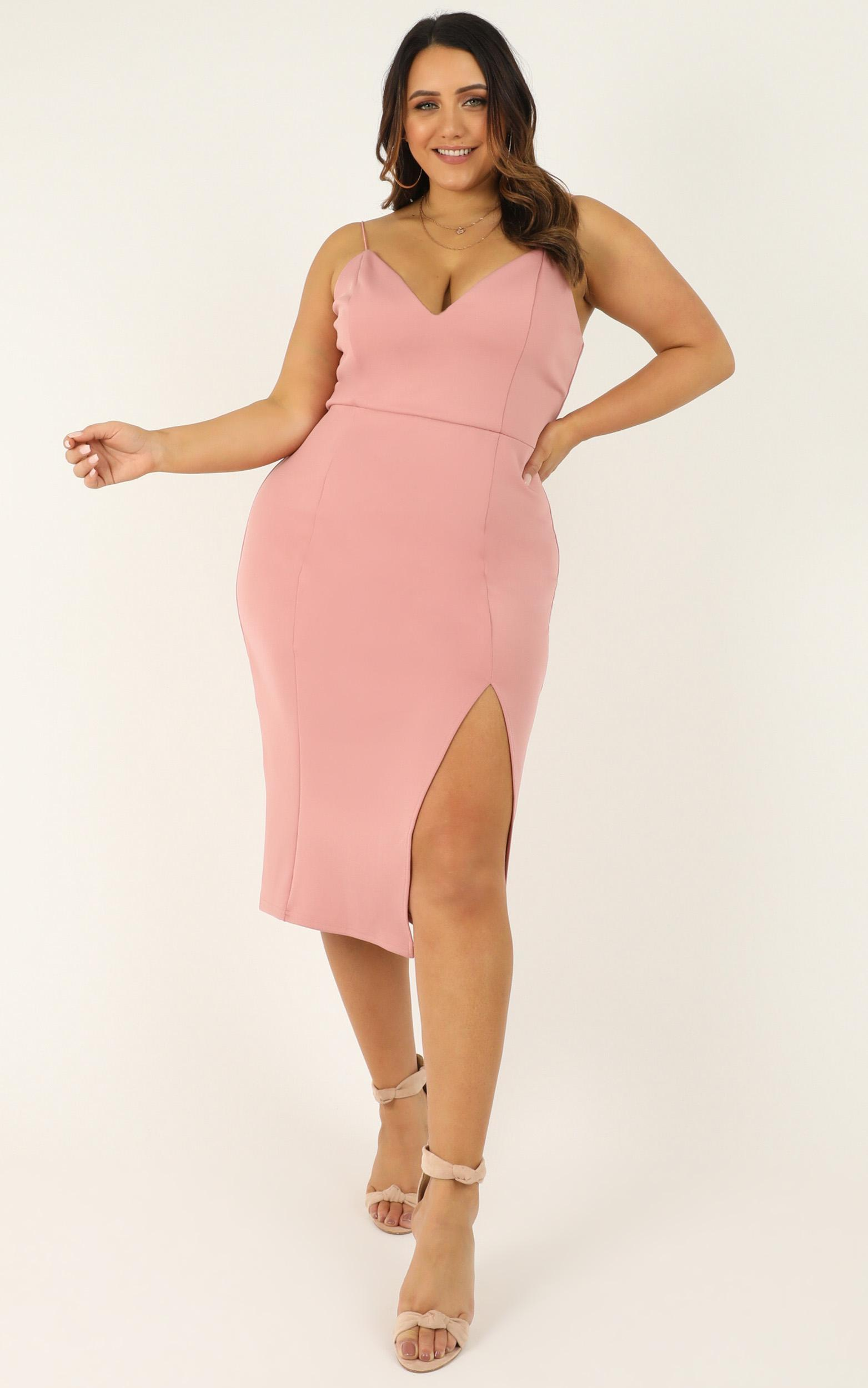 Big Ideas Dress In rose - 20 (XXXXL), Blue, hi-res image number null