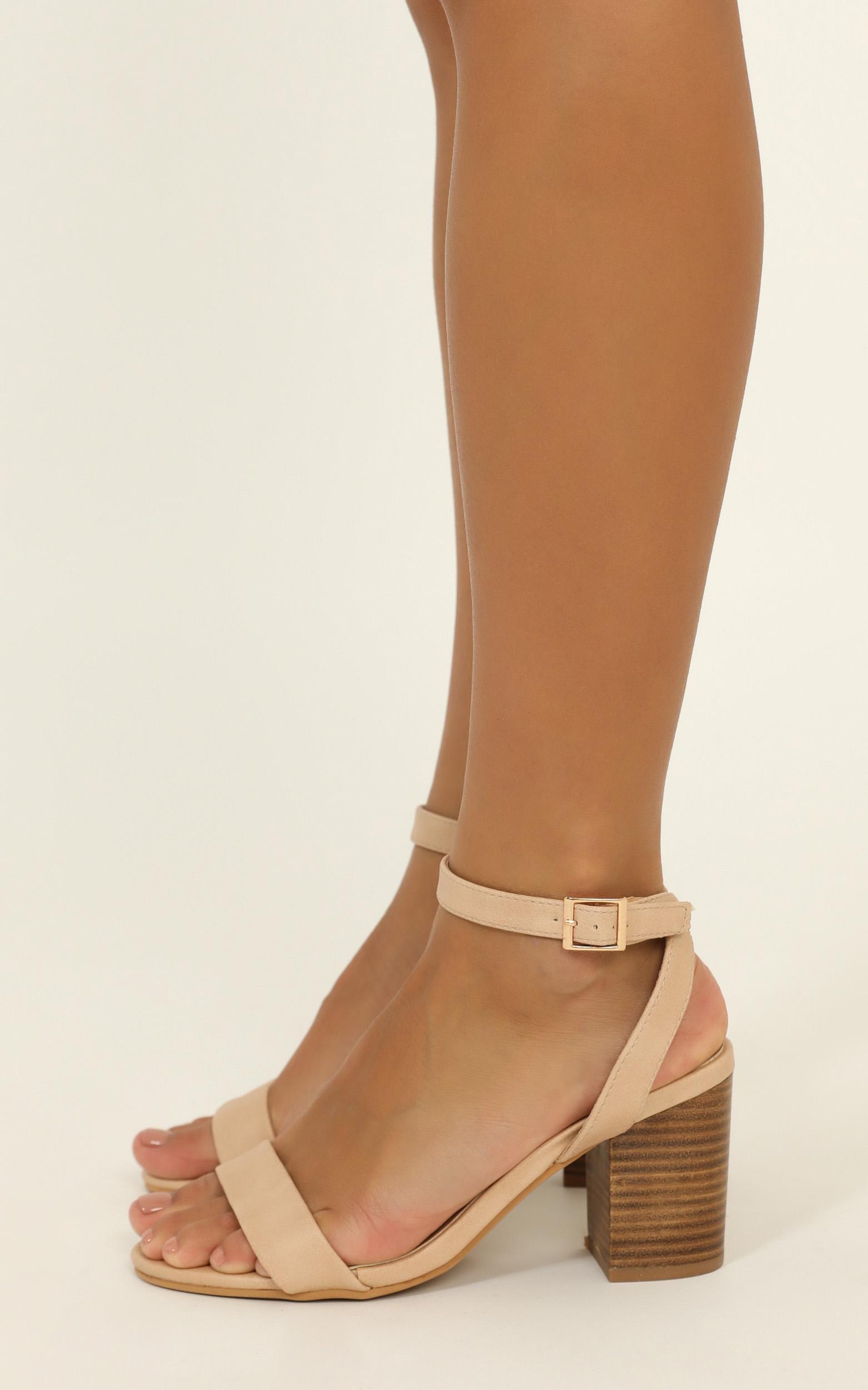 Billini - Carlina heels in nude - 5, Brown, hi-res image number null