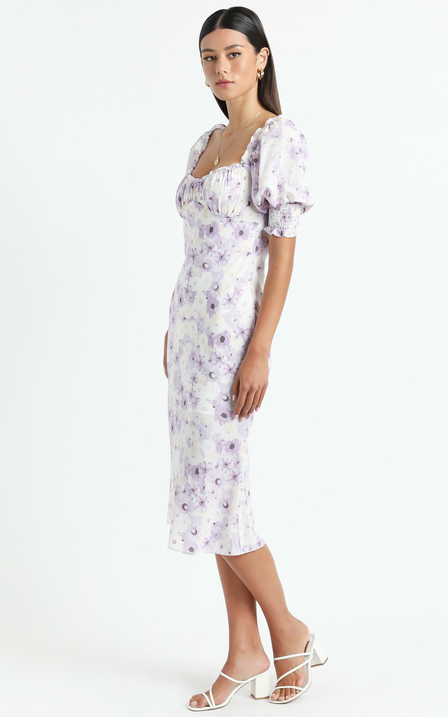Missouri Dress in Lilac Floral - 14 (XL), PRP3, hi-res image number null