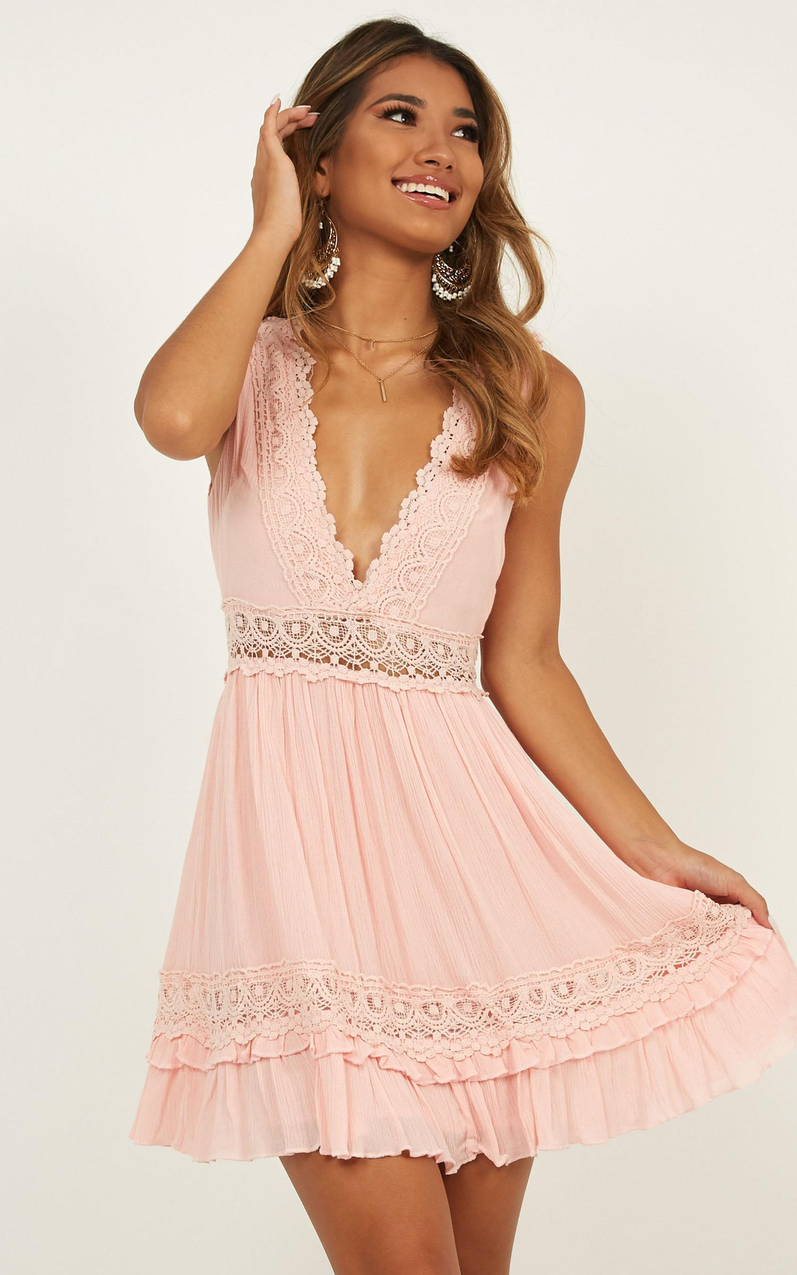 Simple As That dress in blush - 6 (XS), Blush, hi-res image number null