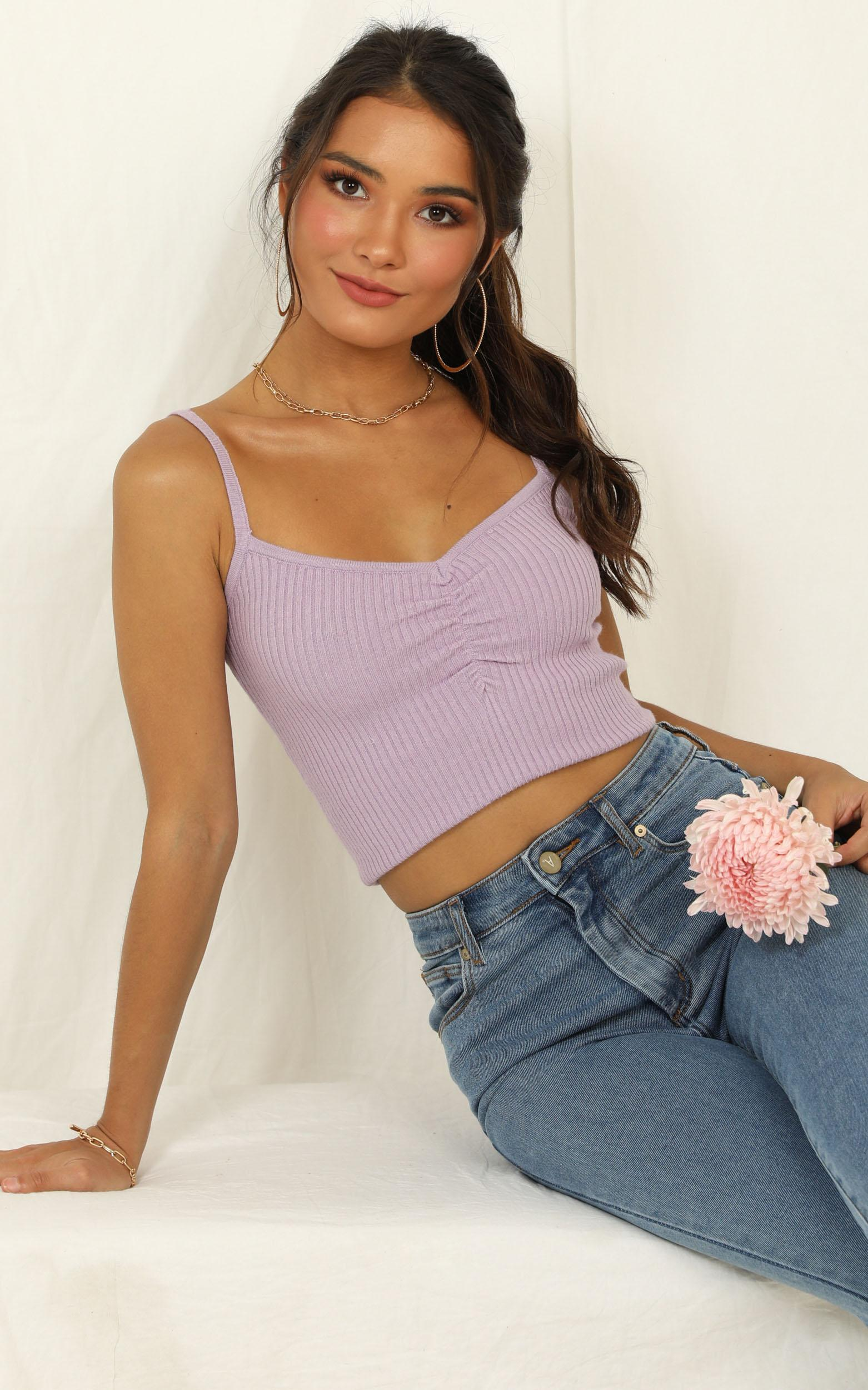 Constant Magic top in lilac - 16 (XXL), Purple, hi-res image number null