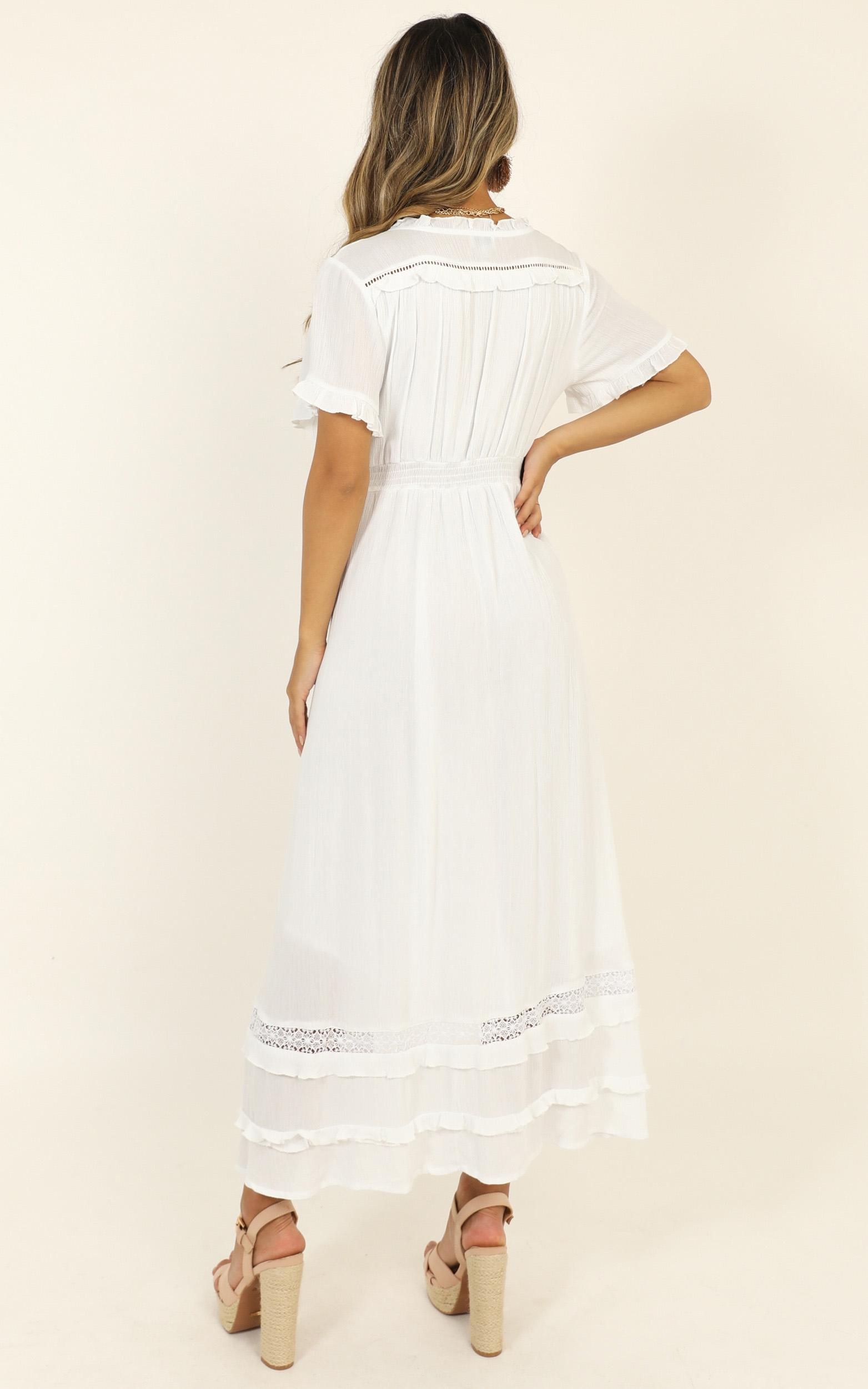 Sunday Sunsets Dress in white - 14 (XL), White, hi-res image number null