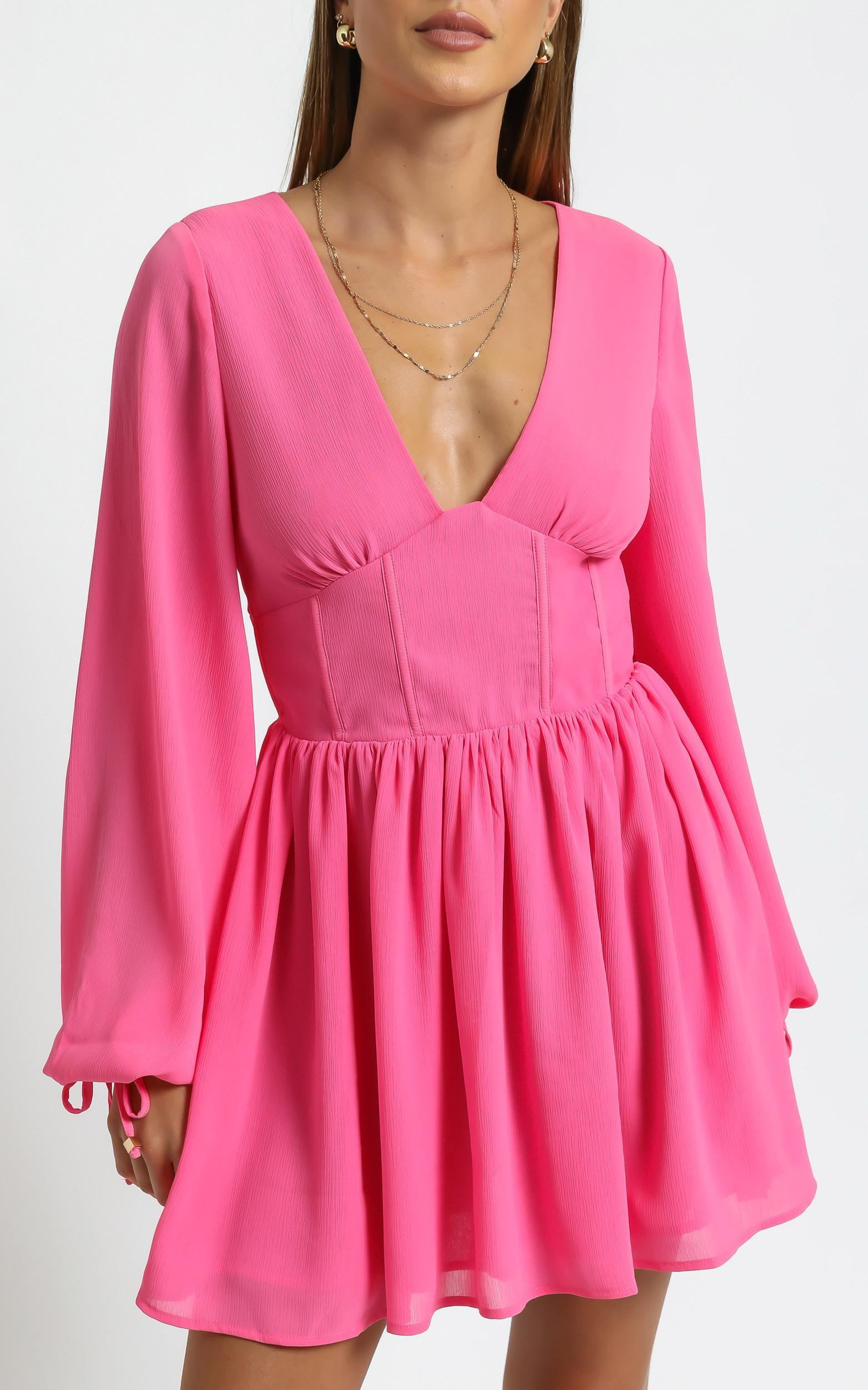 Calista Dress in Pink - 6 (XS), PNK1, hi-res image number null