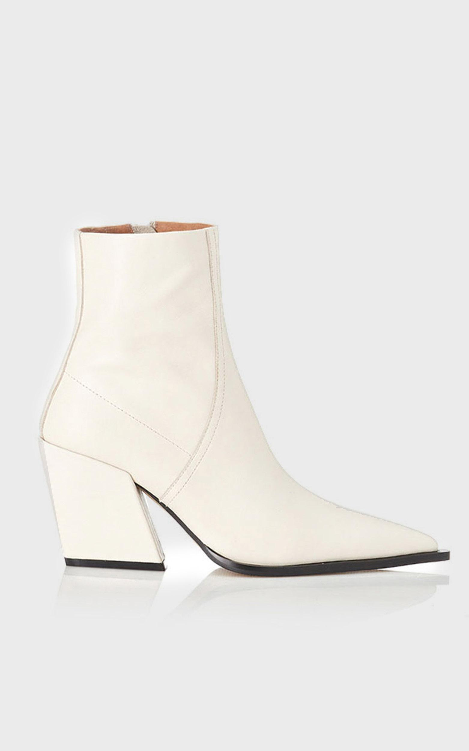 Alias Mae - Knight Boots in Bone Leather - 5.5, WHT1, hi-res image number null