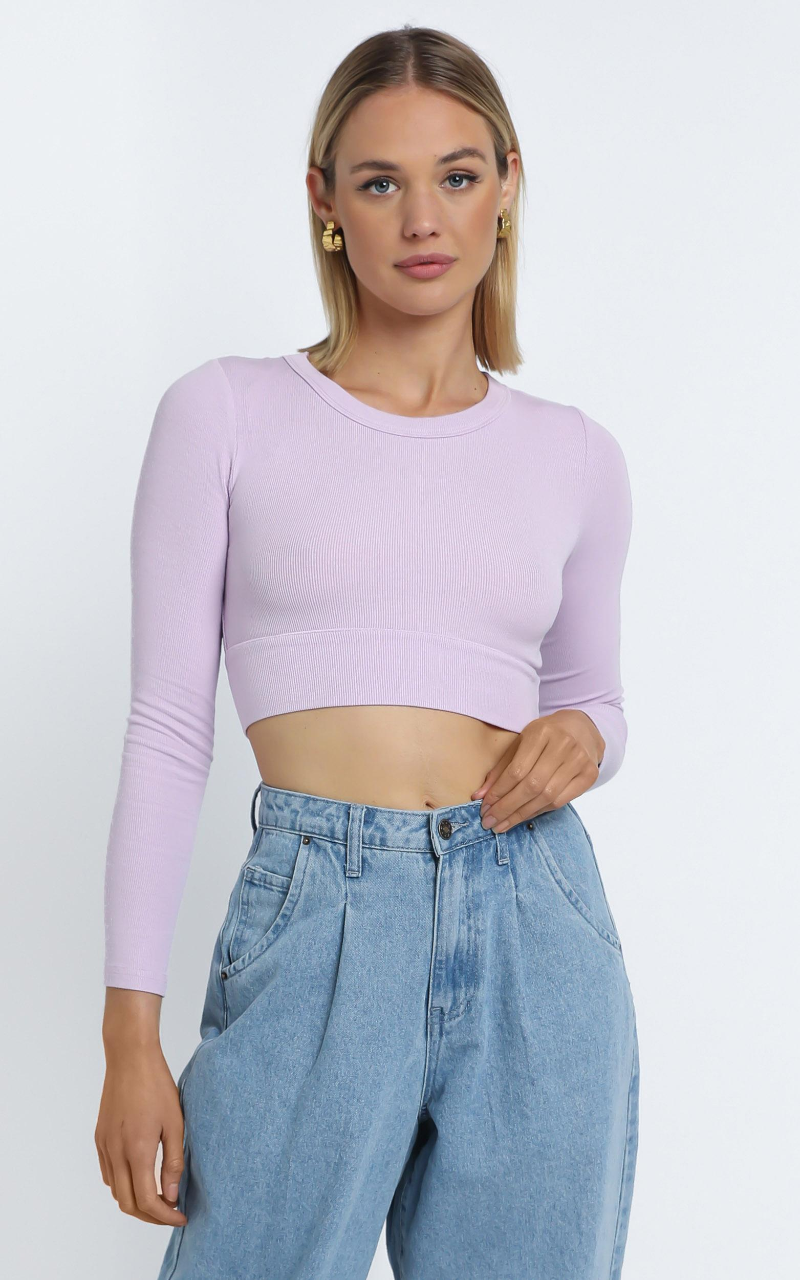 Asher Top in Lilac - 14 (XL), PRP1, hi-res image number null