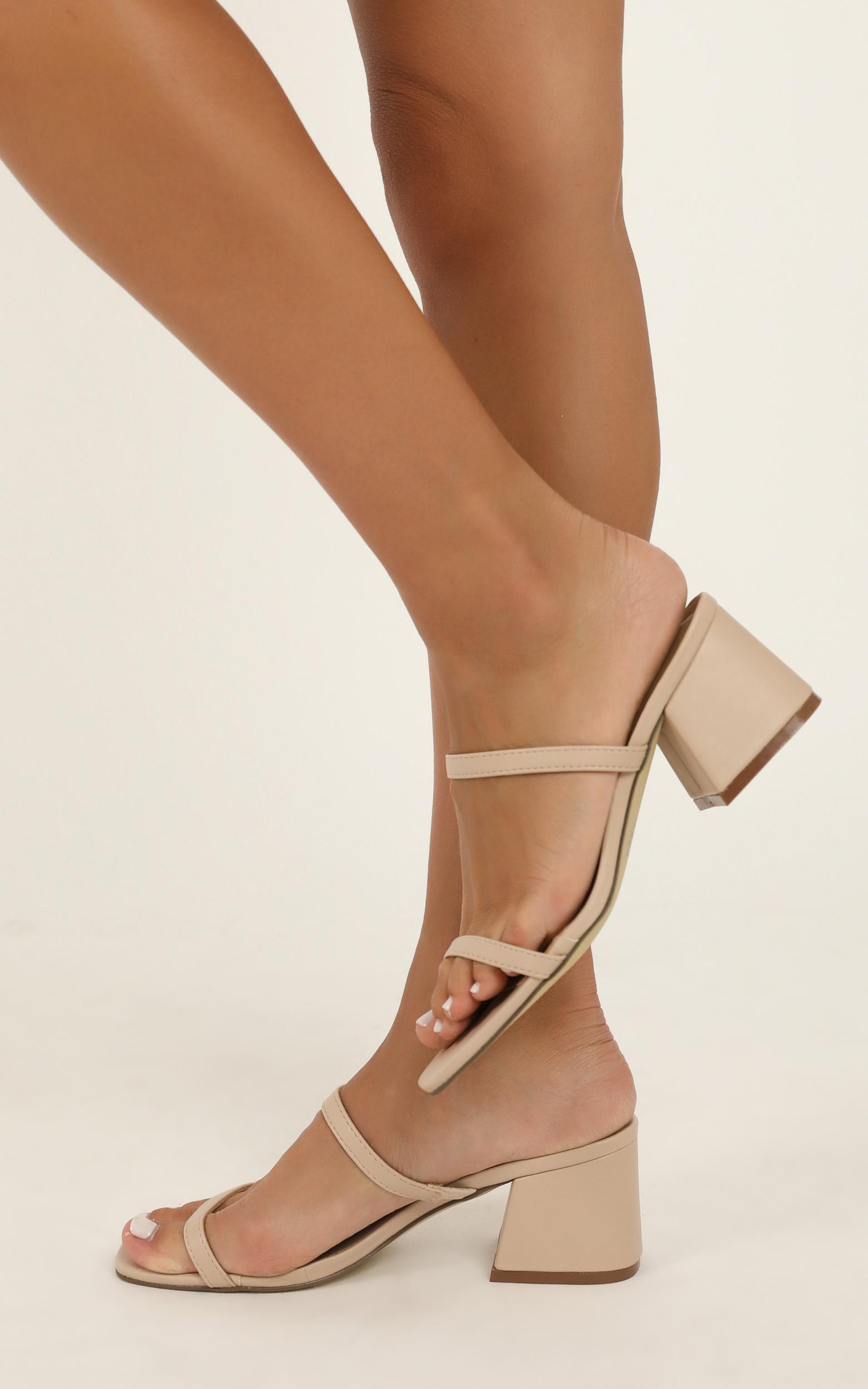 Therapy - Goldie Heels in nude - 10, Beige, hi-res image number null
