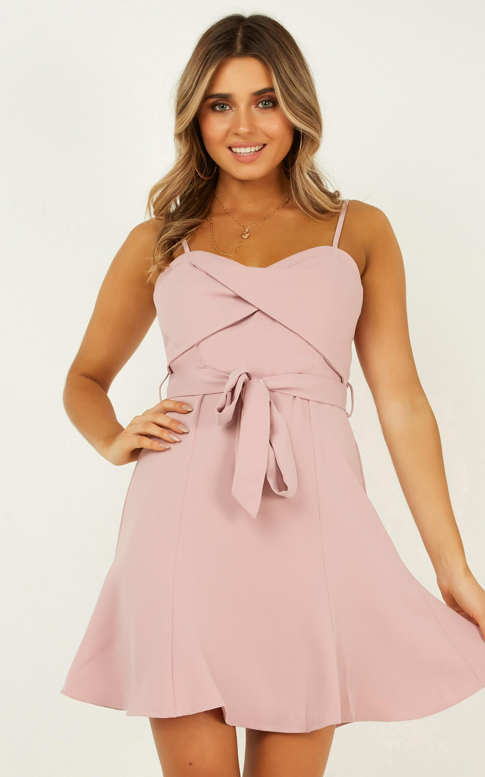 Our Fate dress in blush - 16 (XXL), Blush, hi-res image number null