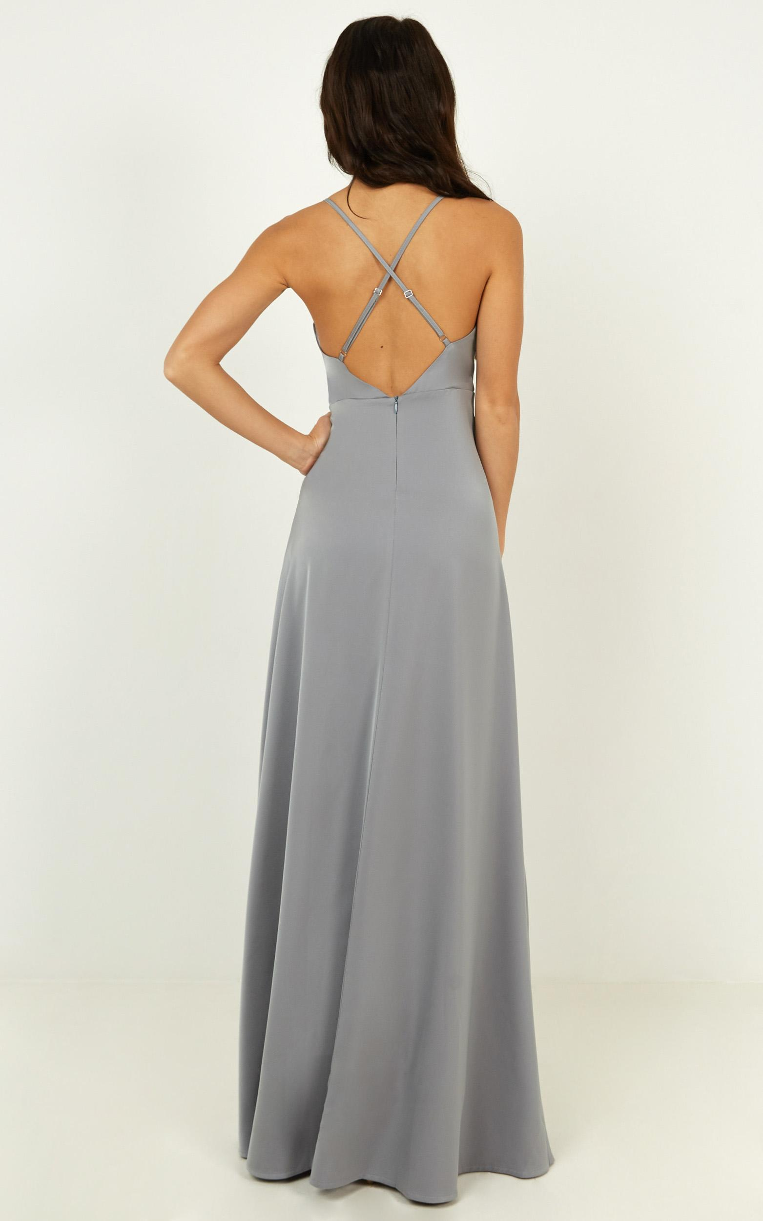 Will it be us dress in dusty blue - 20 (XXXXL), Blue, hi-res image number null