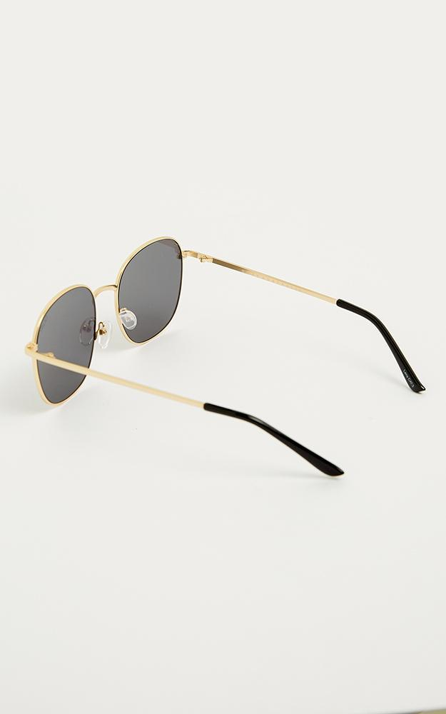 Quay - Jezabell Sunglasses In Gold, Gold, hi-res image number null