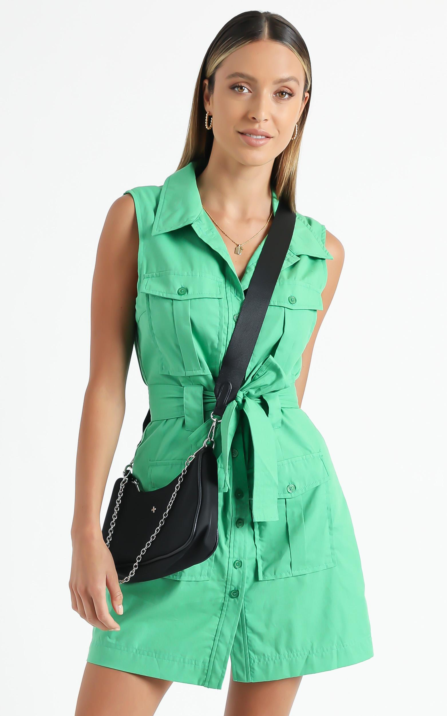 Turbina Dress in Green - 6 (XS), Green, hi-res image number null
