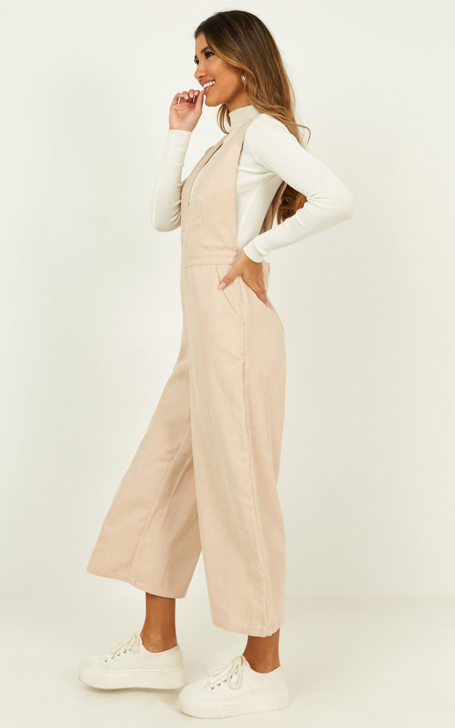 Cult Following Jumpsuit in cream - 18 (XXXL), Cream, hi-res image number null