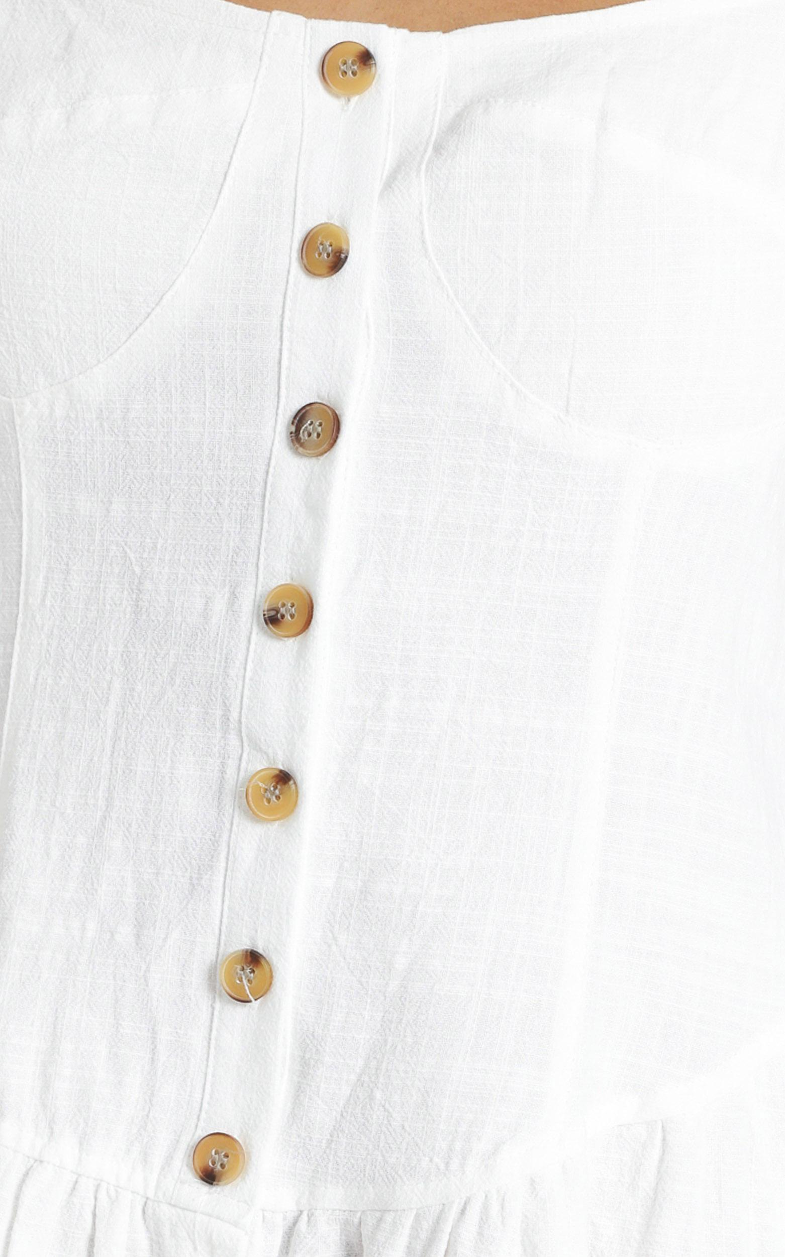 Kovacs Dress in White - 6 (XS), White, hi-res image number null