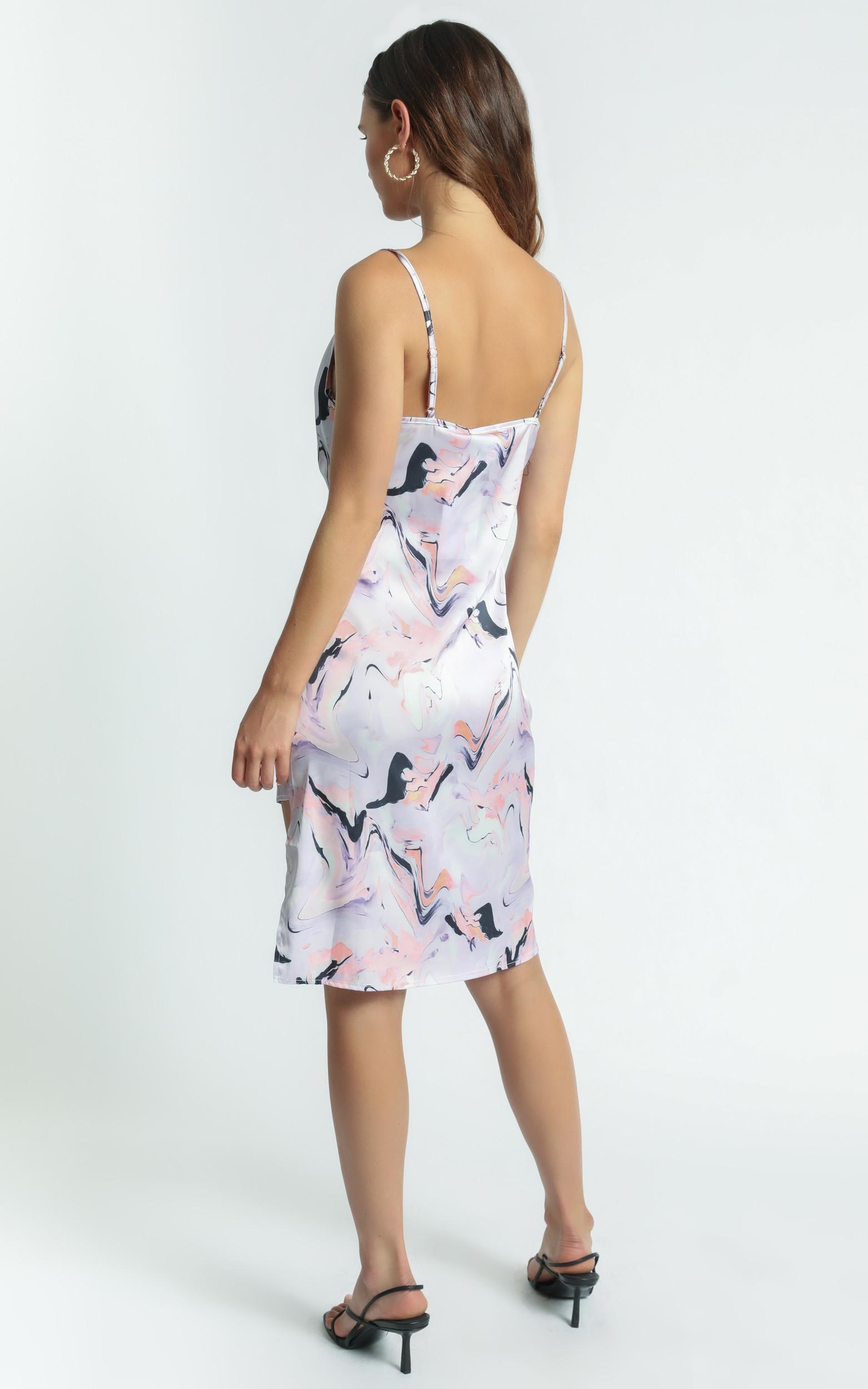 Twiin - Aphrodite Slip Dress in Multi - XS, Multi, hi-res image number null