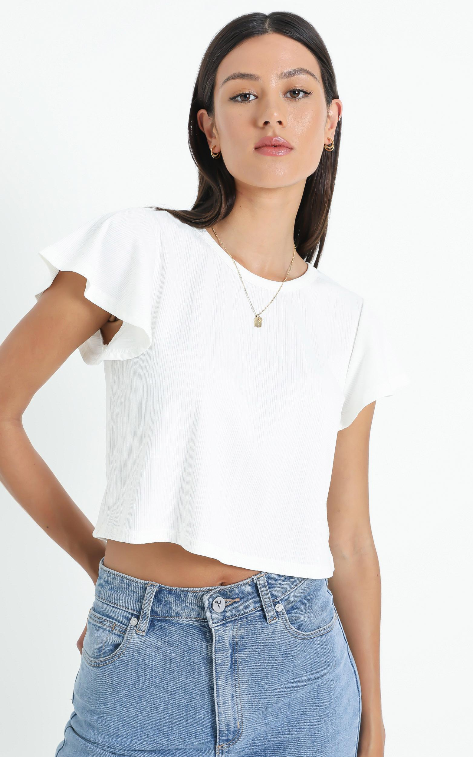 Broome Top in White - 06, WHT2, hi-res image number null