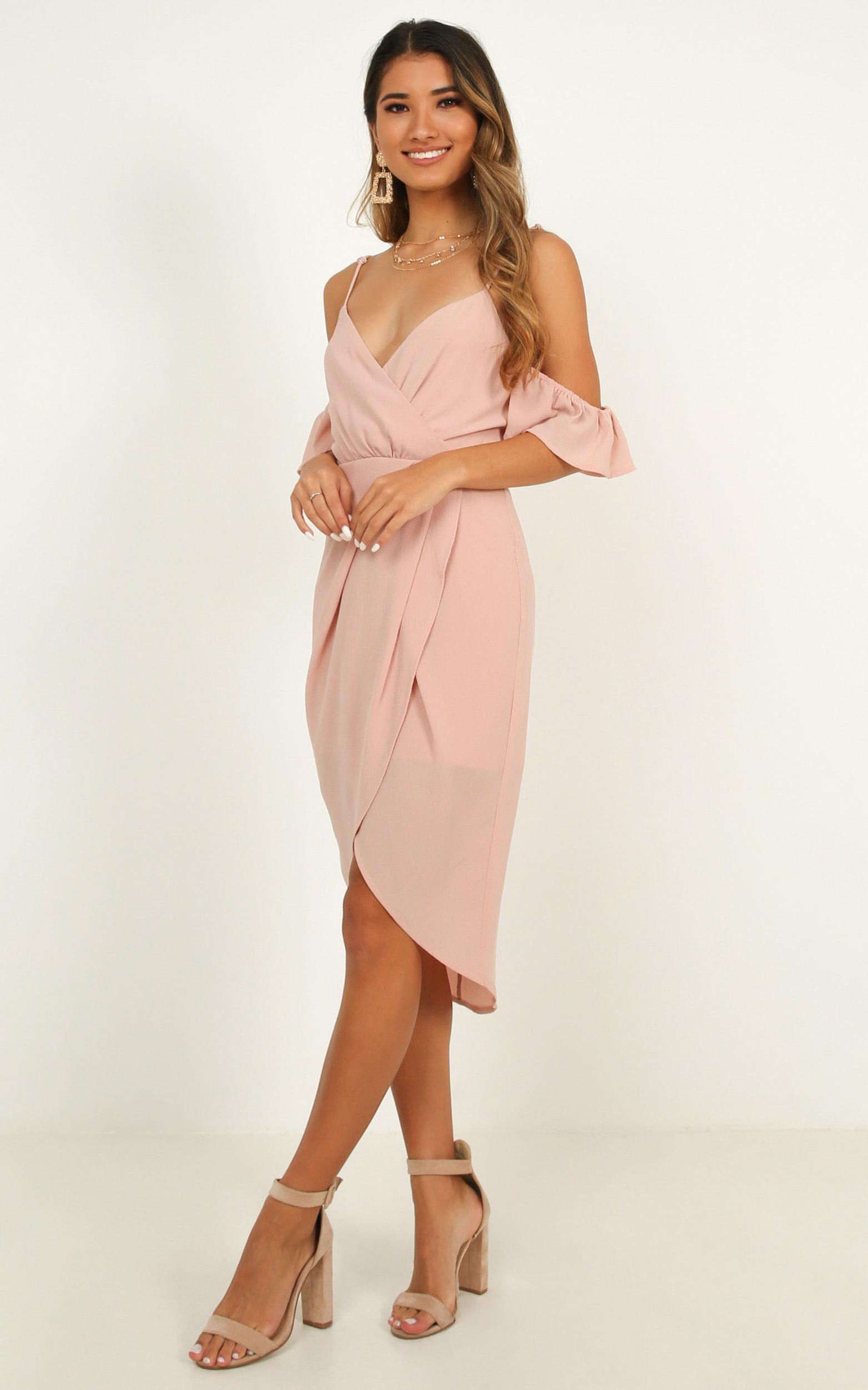 A Fair Go Dress in blush - 20 (XXXXL), Blush, hi-res image number null