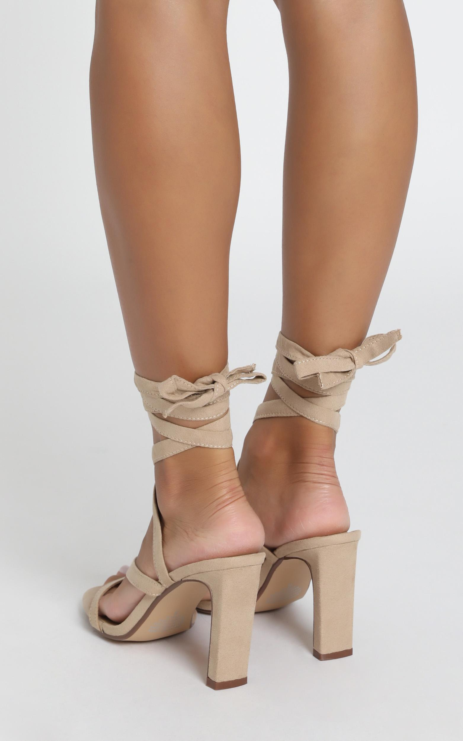 Therapy - Lorelei Heels in cashew micro - 10, Beige, hi-res image number null