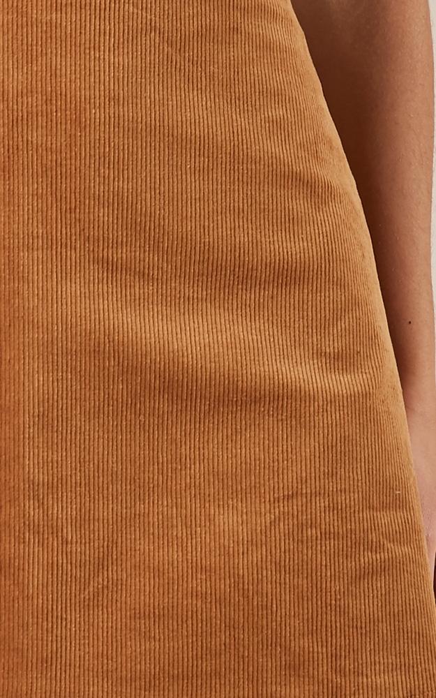 Broken Halos skirt in tan cord - 20 (XXXXL), Tan, hi-res image number null