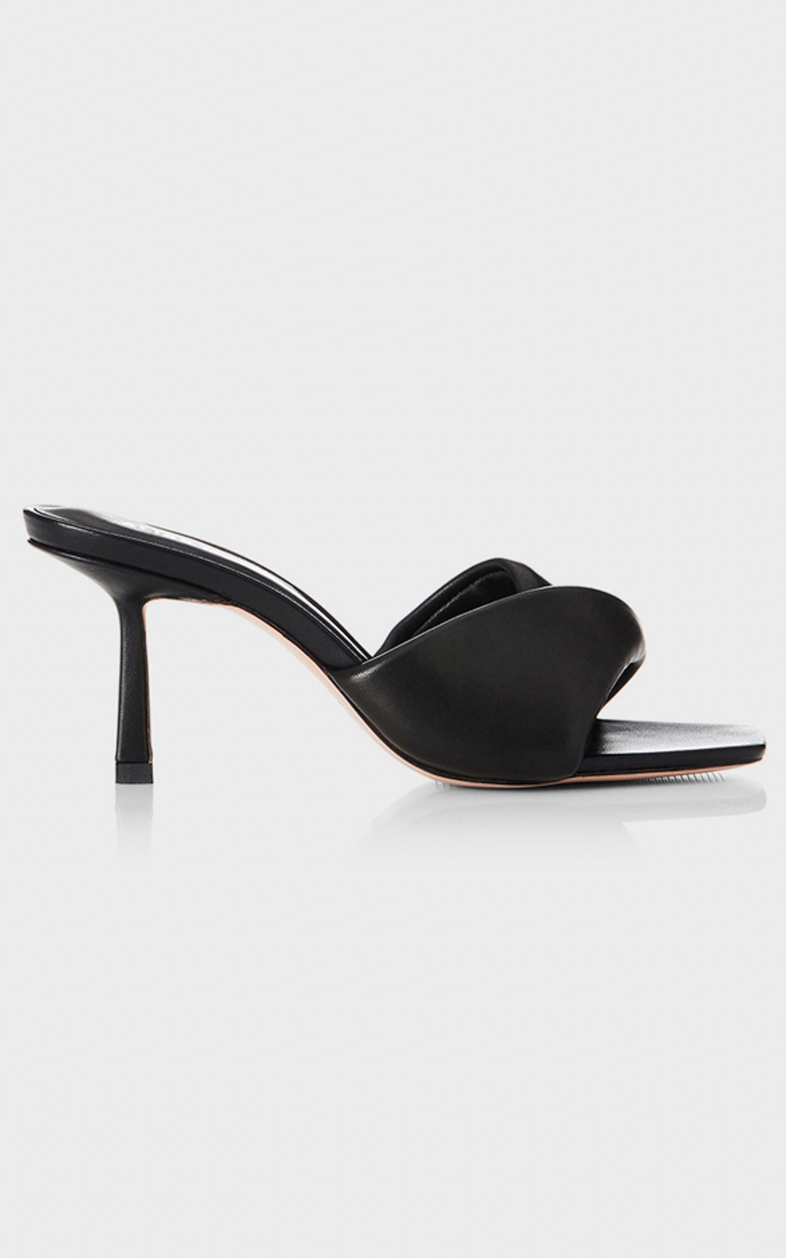 Alias Mae - Liv Heels in Black Leather - 5.5, Black, hi-res image number null
