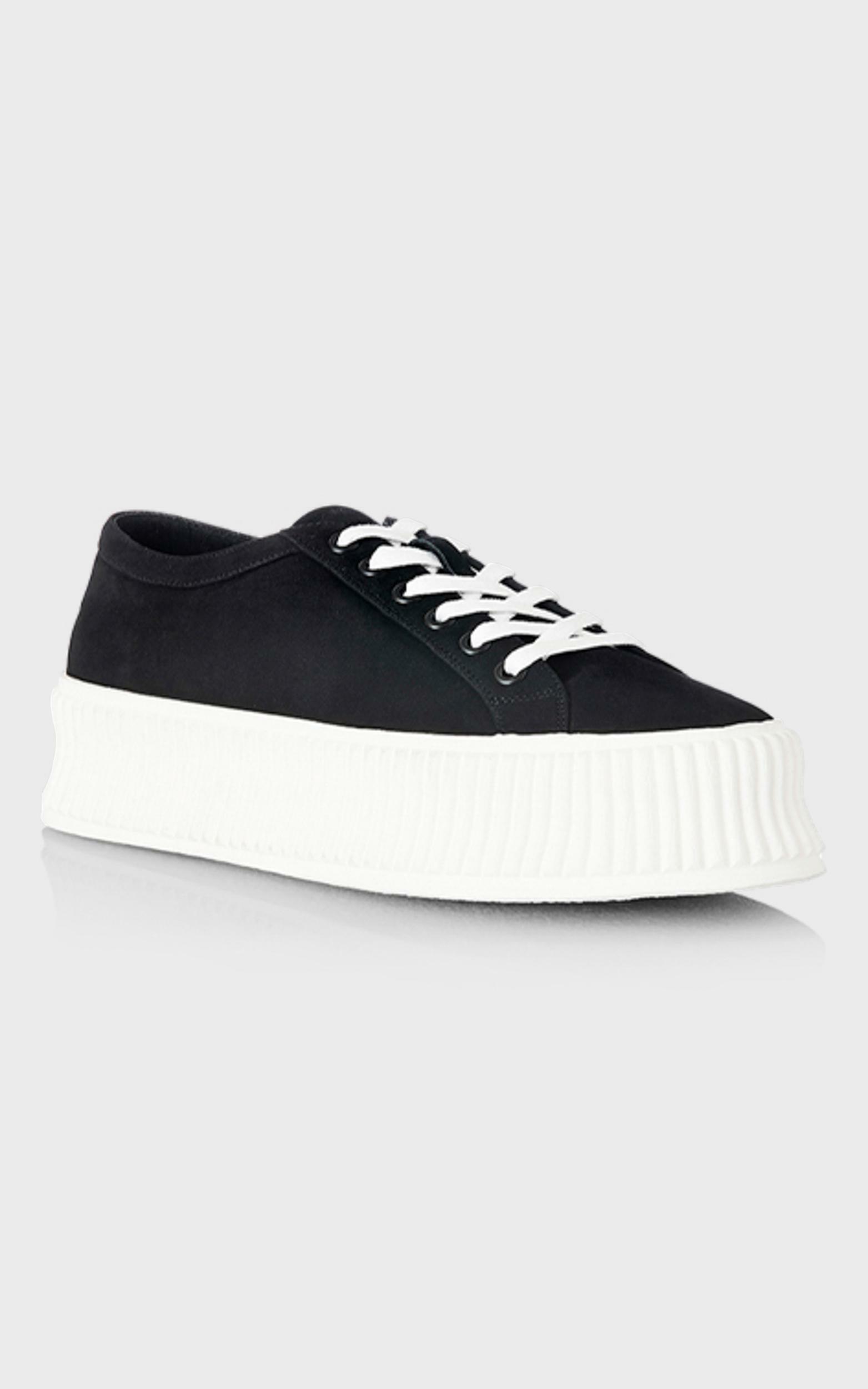Alias Mae - Adelaide Sneakers in Black Nubuck - 5.5, Black, hi-res image number null