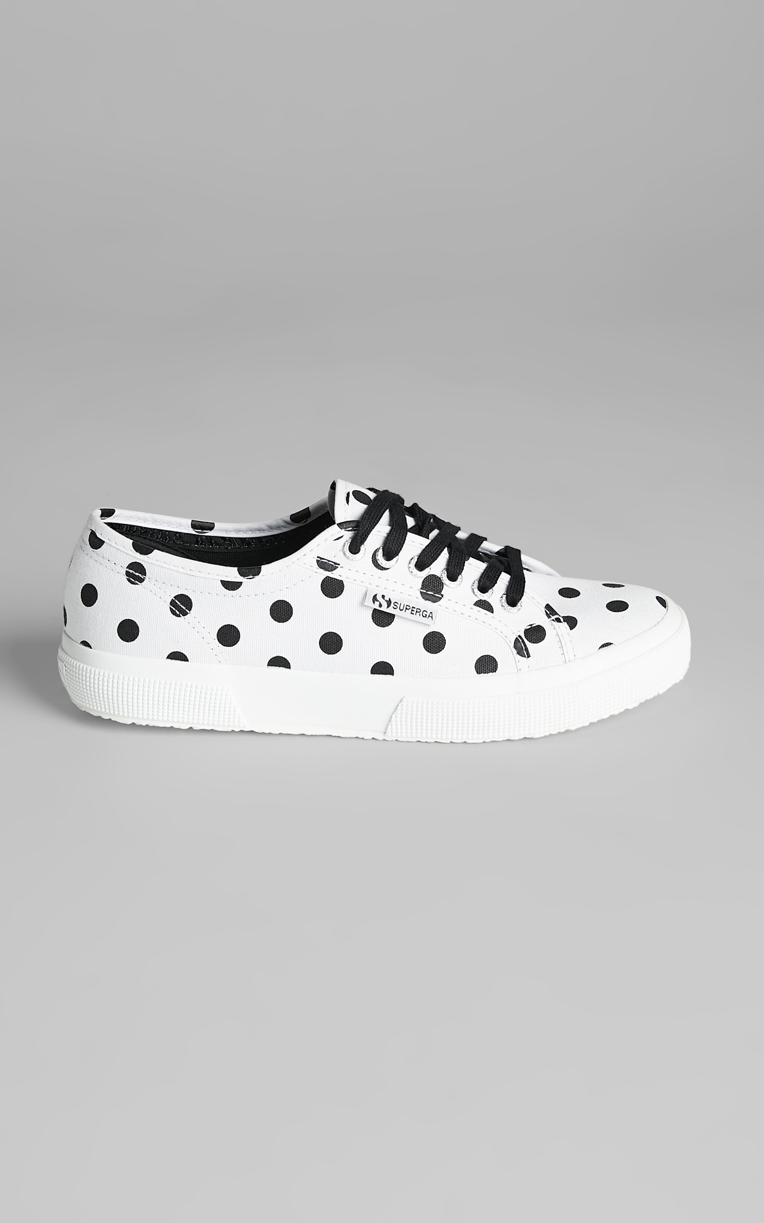 Superga - 2750 Polkadots Sneakers in A3Y White Black Dots - 05, WHT1, hi-res image number null