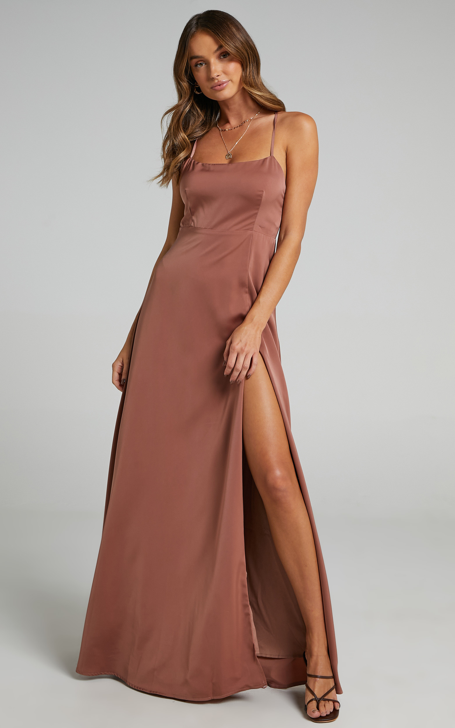 Will It Be Us Dress in Dusty Rose - 20, PNK4, hi-res image number null