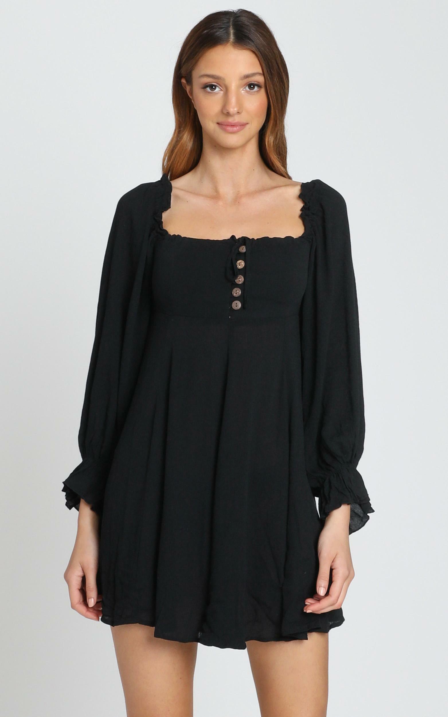 Gypsy Soul Dress in black - 6 (XS), Black, hi-res image number null