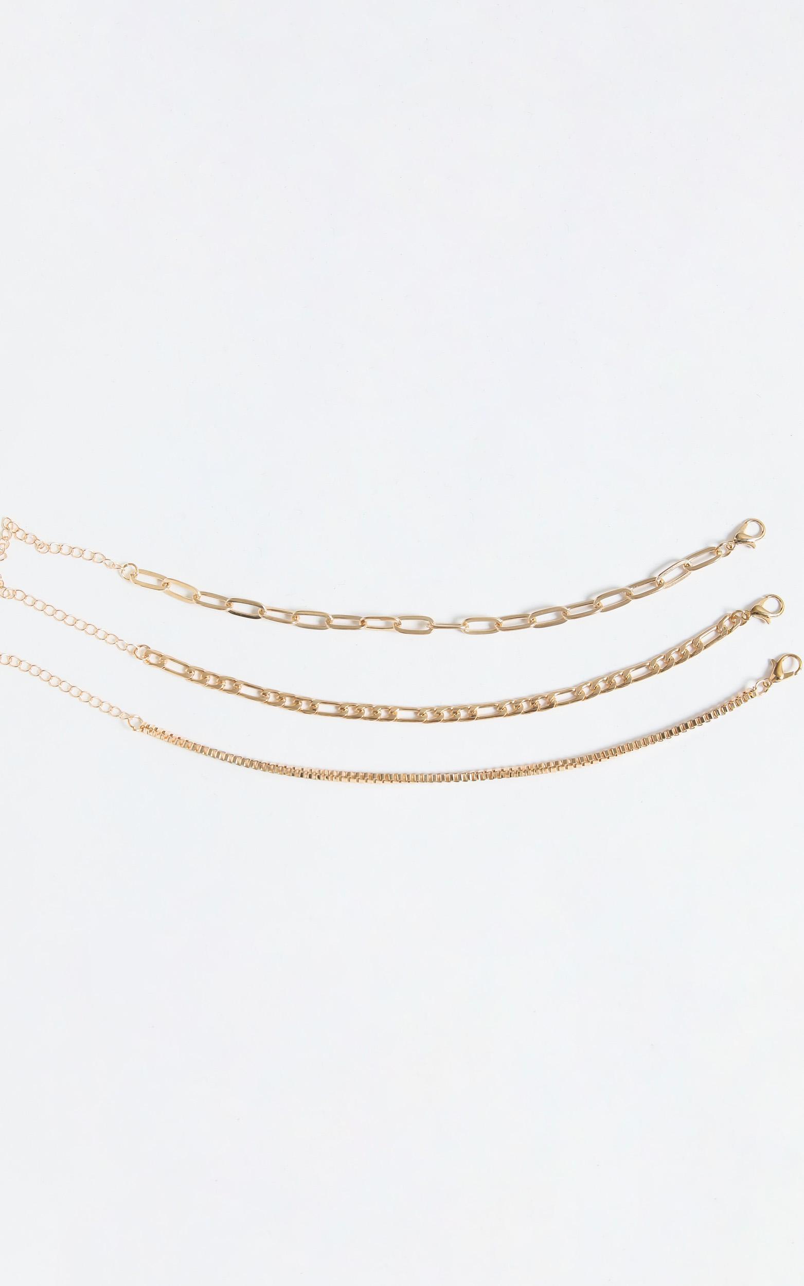 Yolanda Bracelet Set in Gold, , hi-res image number null