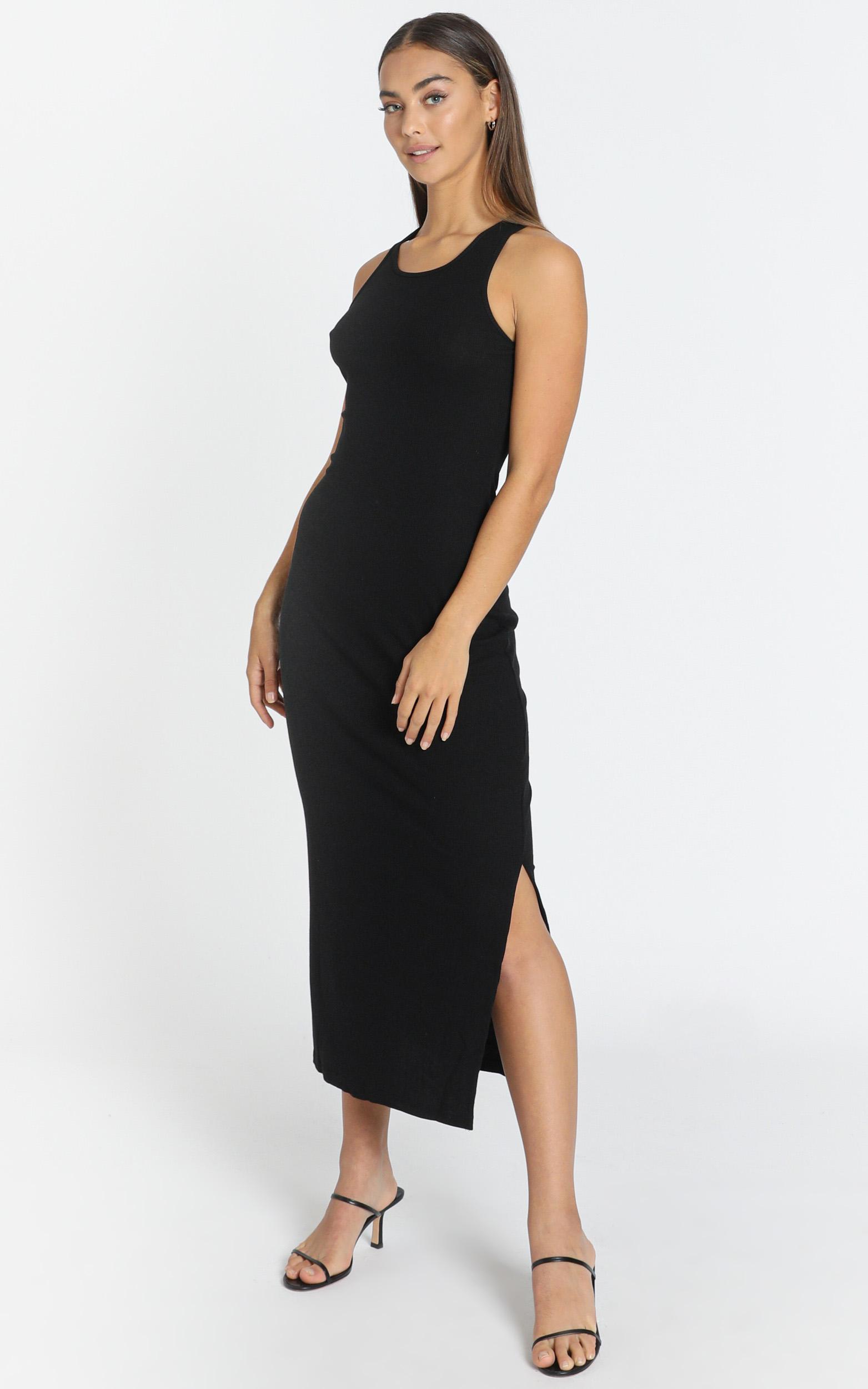 Estelle Dress in Black - 6 (XS), Black, hi-res image number null