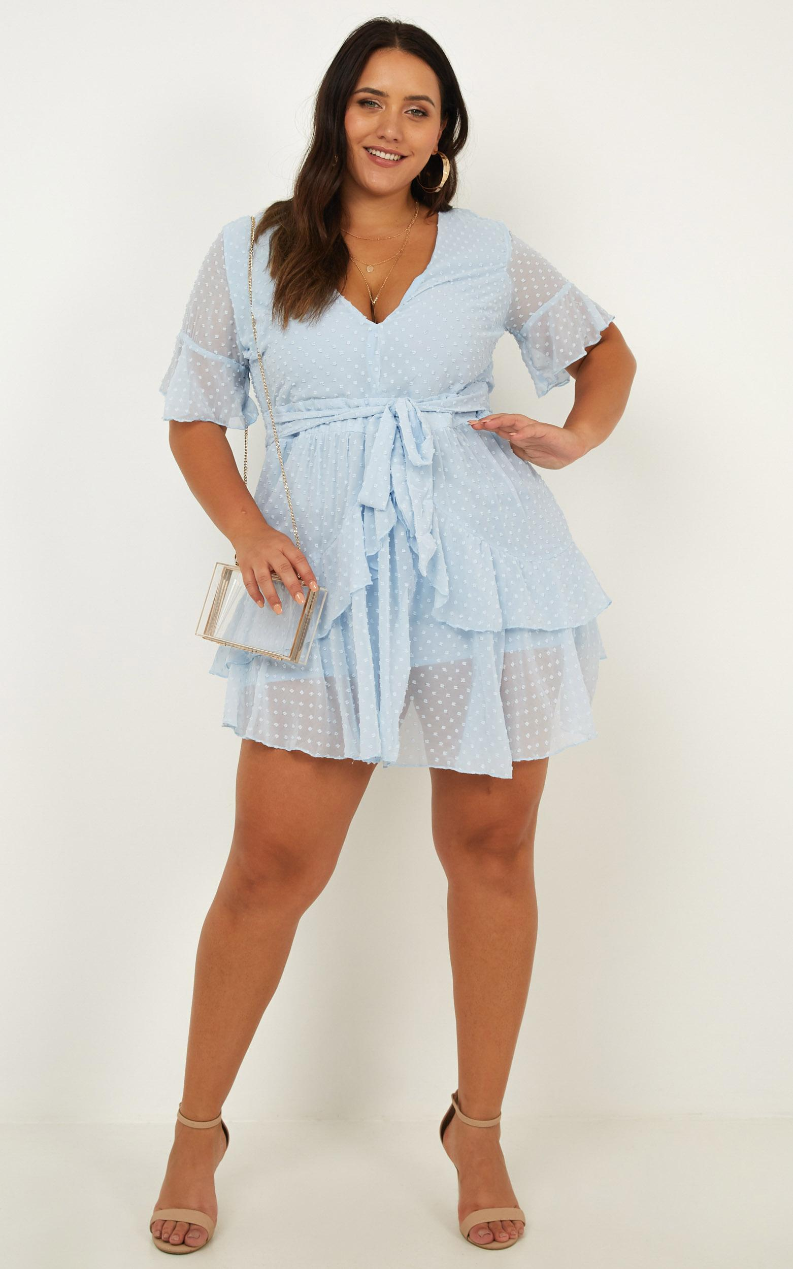 Know What You Want Dress in blue - 20 (XXXXL), Blue, hi-res image number null