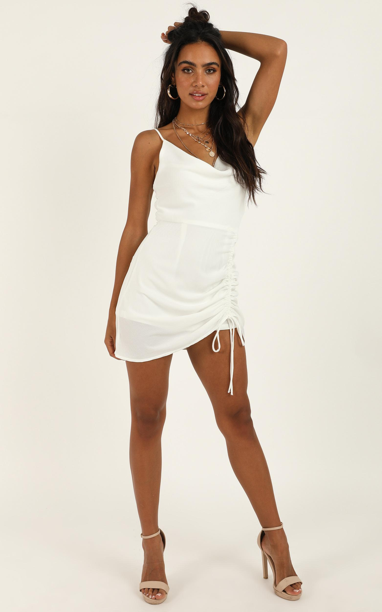 Looks Like You Know Dress in white - 12 (L), White, hi-res image number null