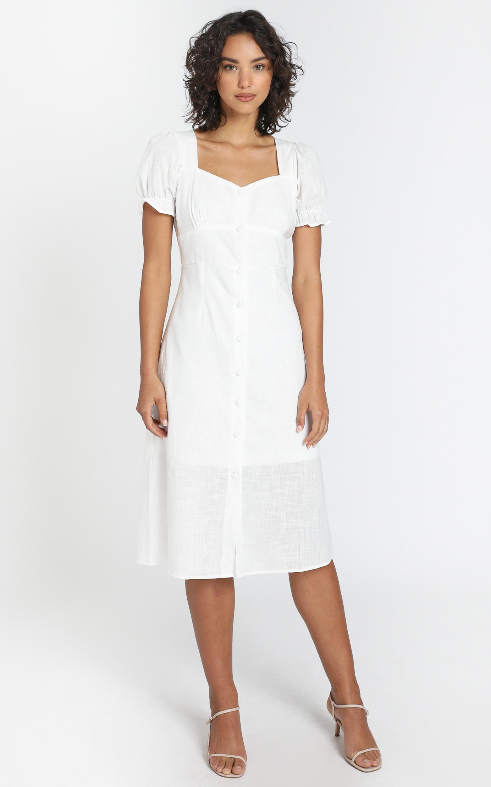 Myra Dress in white - 6 (XS), White, hi-res image number null