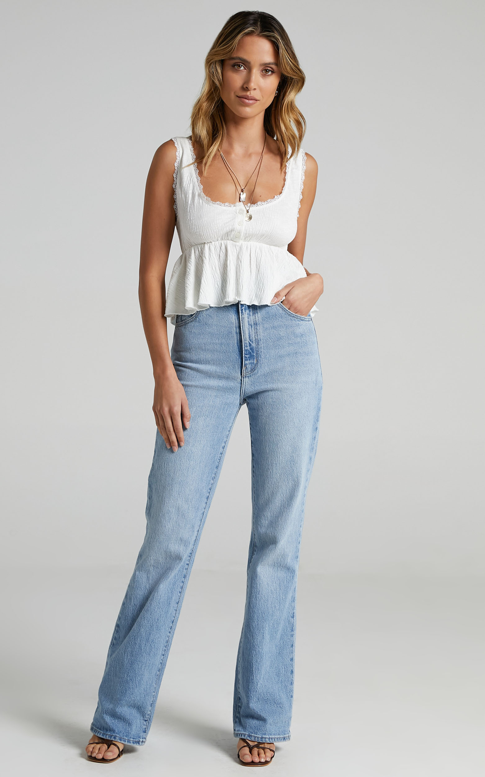 Valma Top in White - 06, WHT2, hi-res image number null