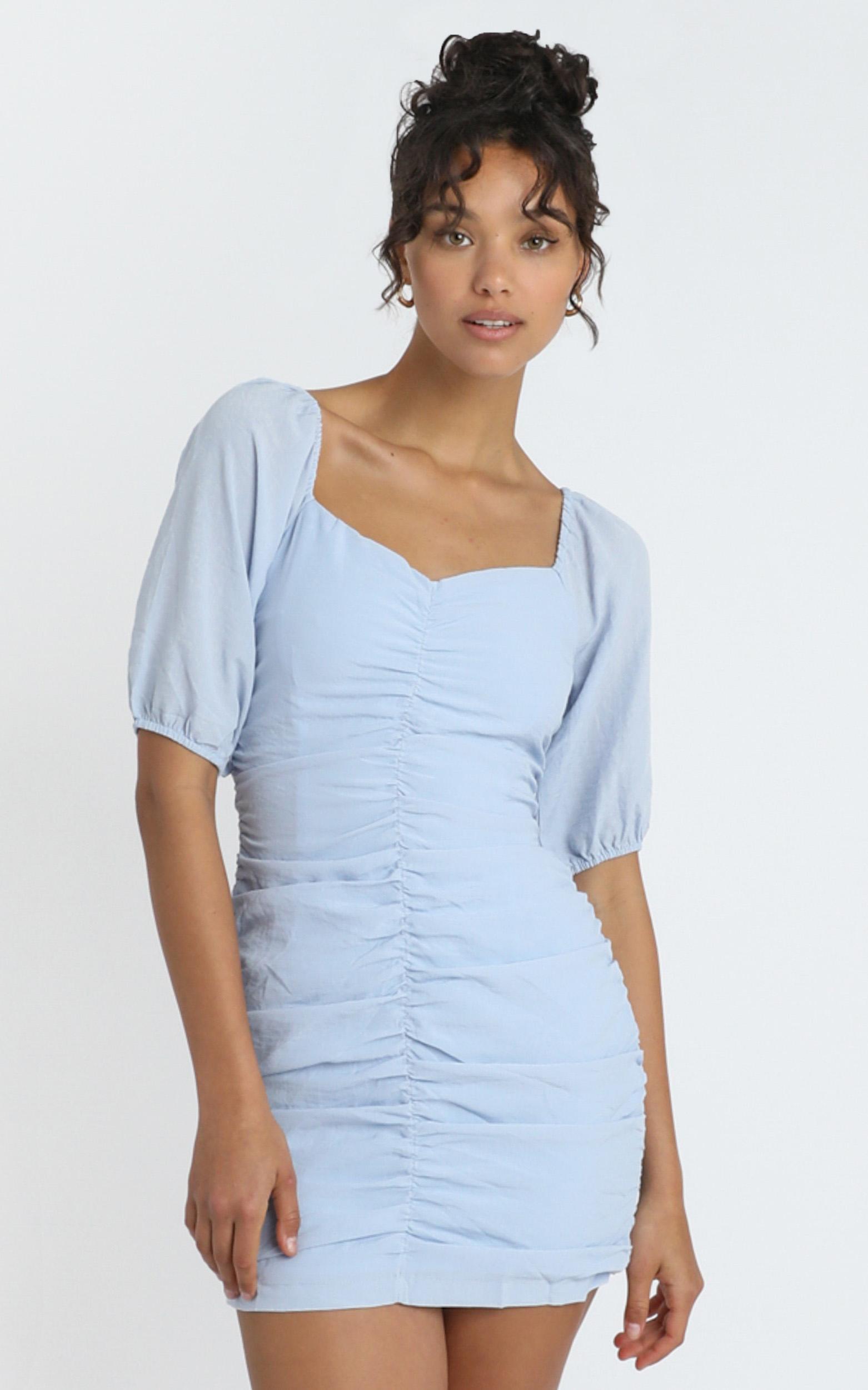 Avis Dress in Blue - 12 (L), Blue, hi-res image number null