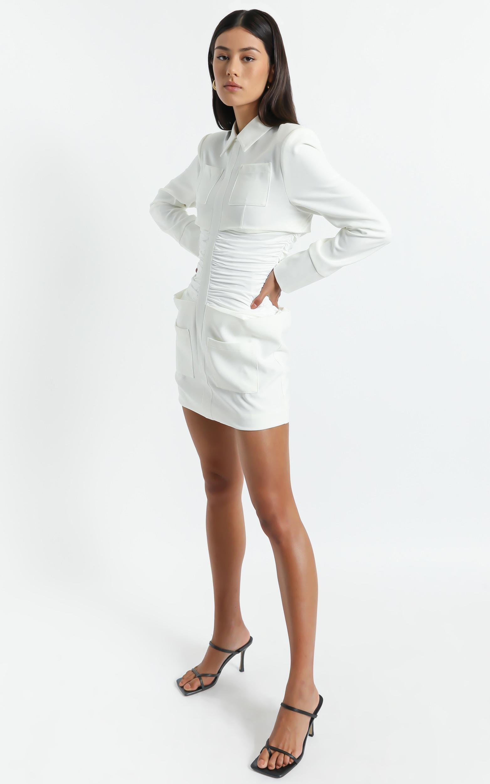 Lioness - The Sweetest Thing Mini Dress in White - XS, White, hi-res image number null